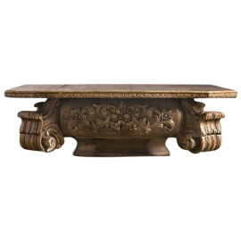 Restoration Hardware Baroque Capital Coffee Table