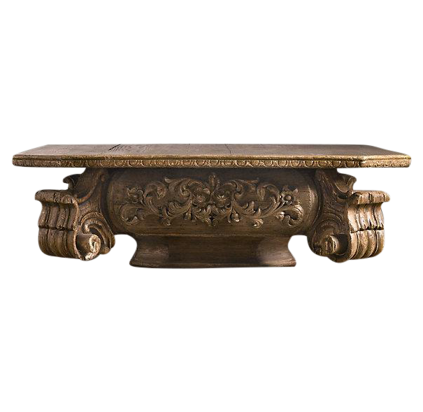 Restoration Hardware Baroque Capital Coffee Table $1,395.00   Design Plus  Gallery