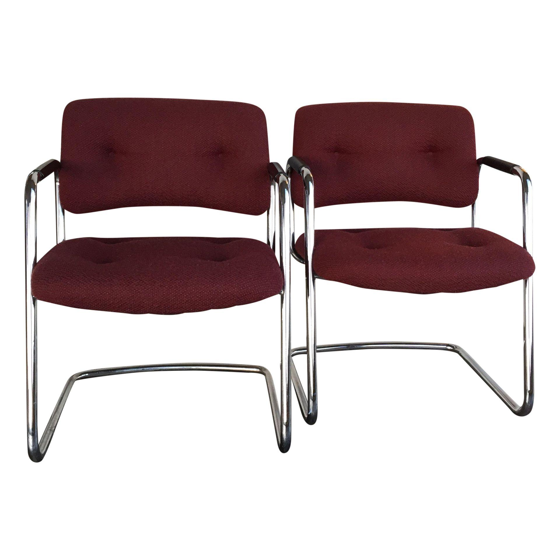 Charmant Steelcase Vintage Chrome Chair