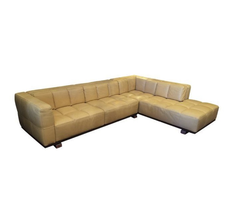 Roche Bobois Two Piece Sectional Sofa Design Plus Gallery