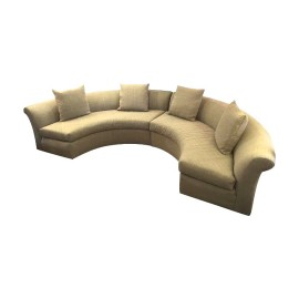 Demilune Two Piece Sectional 2