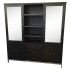 Room & Board Linear Charcoal Custom Cabinetry – Retail Price: $3,600.00