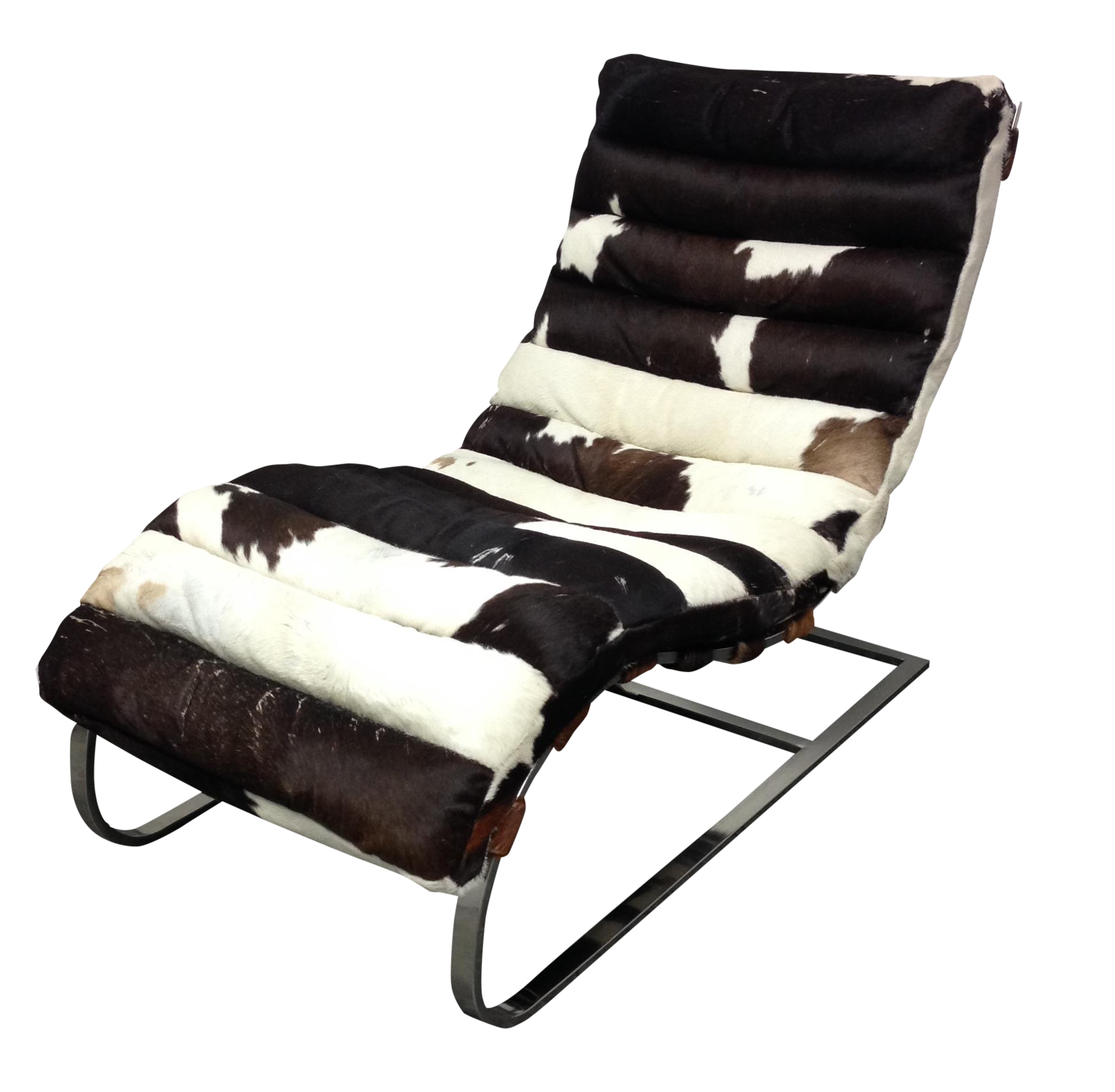 Todd Oldham Cowhide Amp Chrome Lounge Chair Design Plus