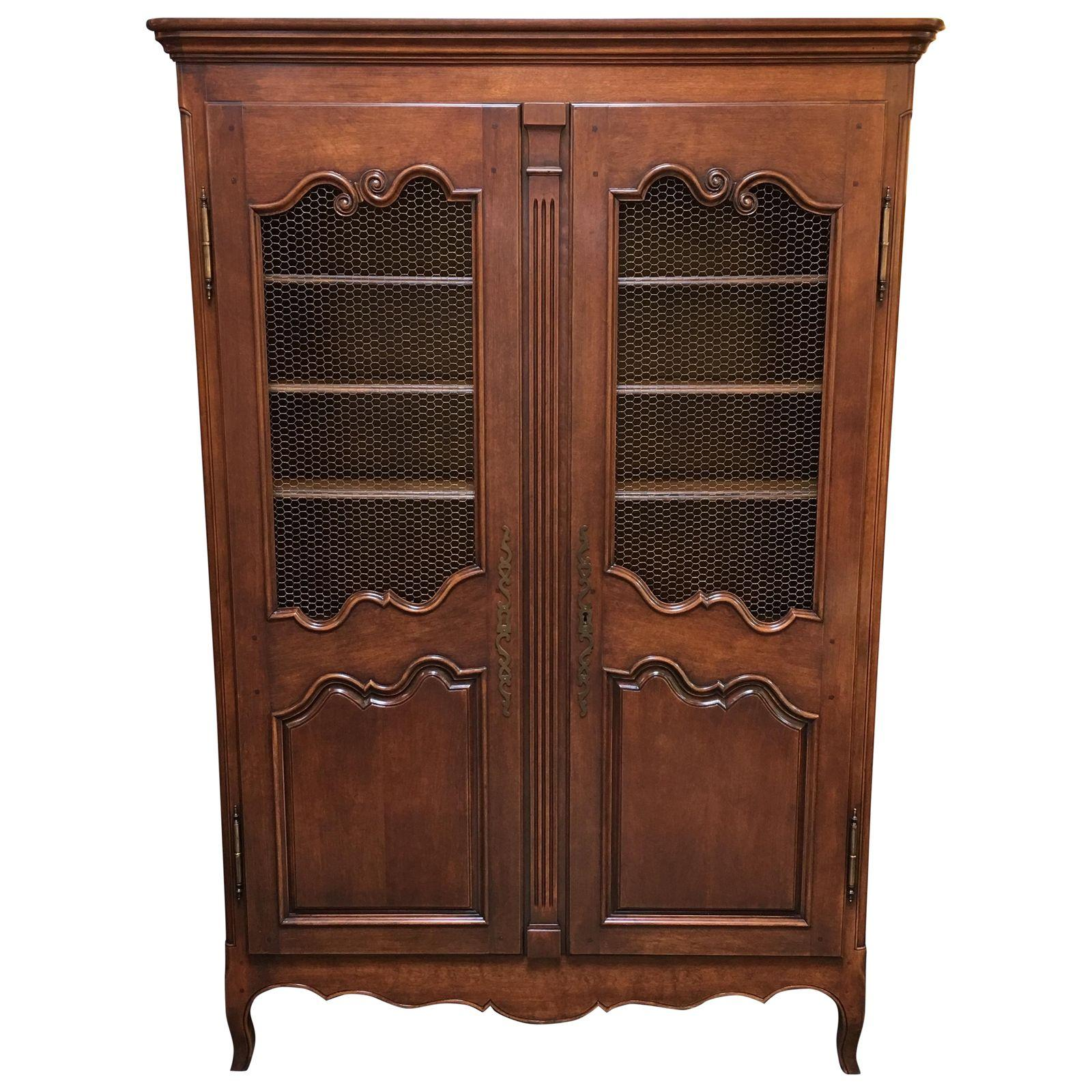 1930s french style armoire design plus gallery. Black Bedroom Furniture Sets. Home Design Ideas