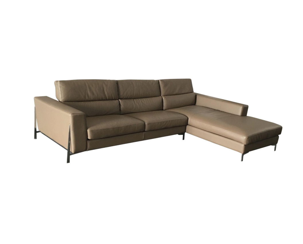 Roche Bobois Invitation Series Leather Sectional Retail 16 000 Design Plus Gallery