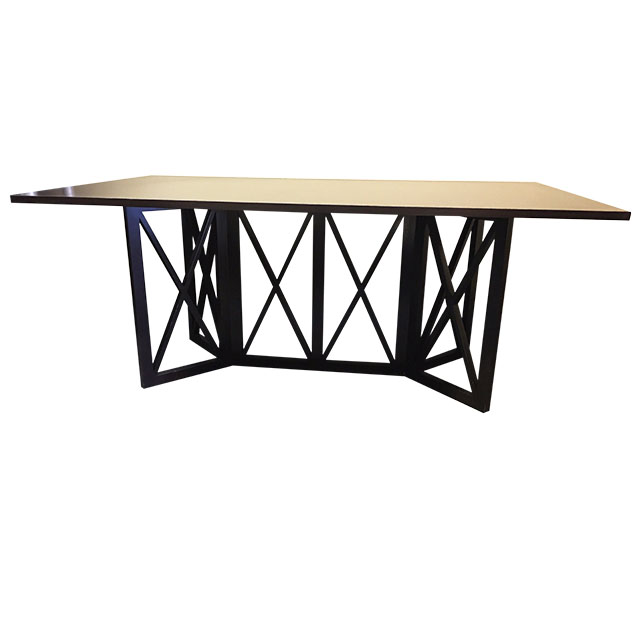 richer black collection dining table original price 4