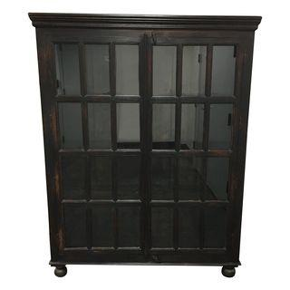 Crate Barrel Faulkner Library Cabinet