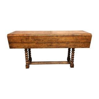Superieur Guy Chaddock Twist Leg Drop Leaf Table. Original Price: $4,000.00.