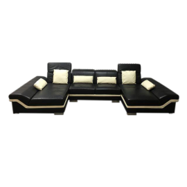 Three Piece Matrix Double Chaise Sectional2