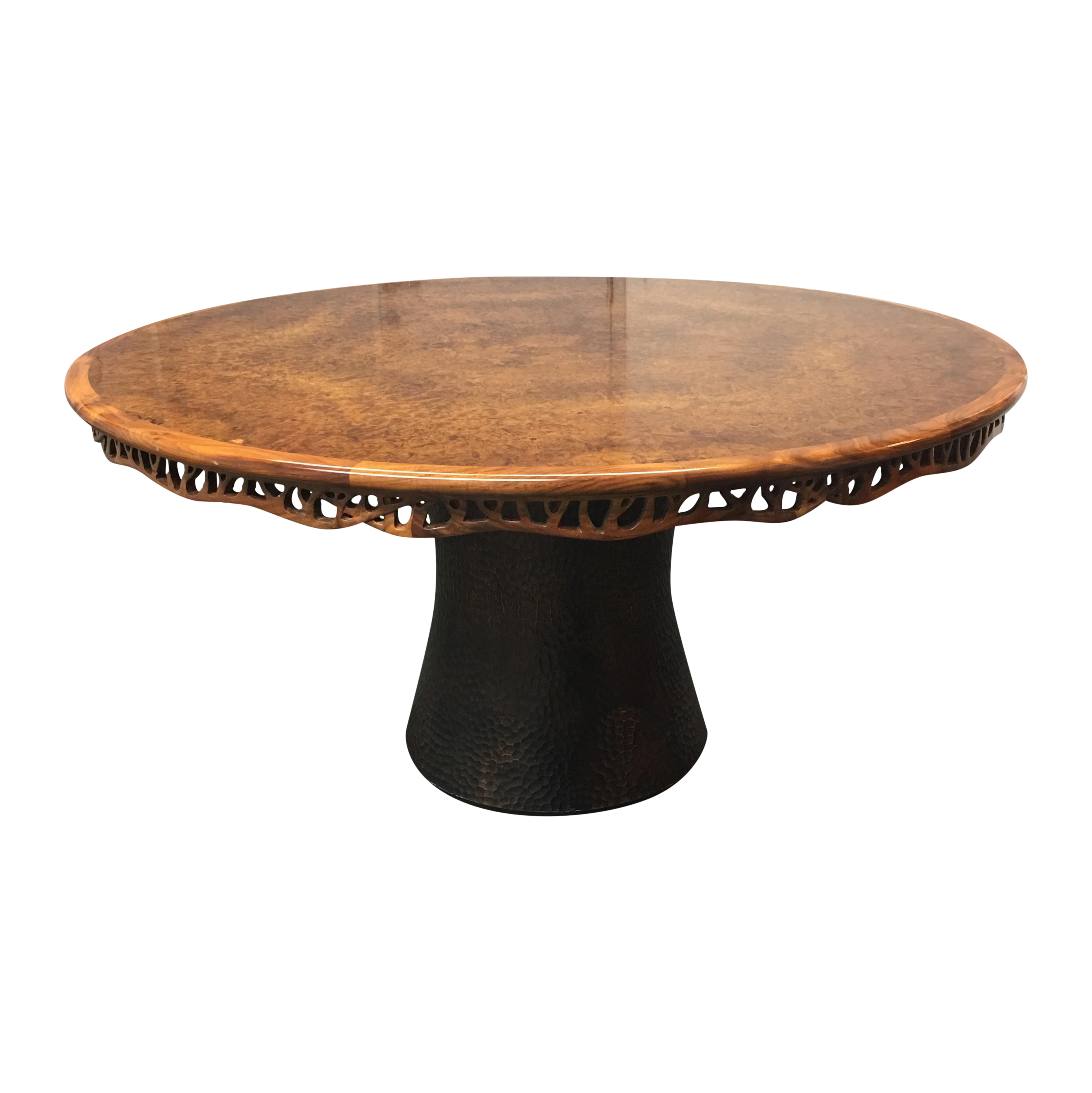 Dining Table Prices: New Martin Pierce Hedgerow Circular Dining Table. Original