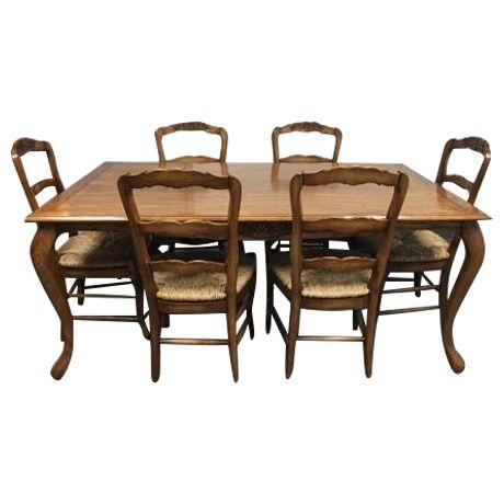 Fremarc Designs Chateau Draw Top Dining Set Original Price - Fremarc dining table