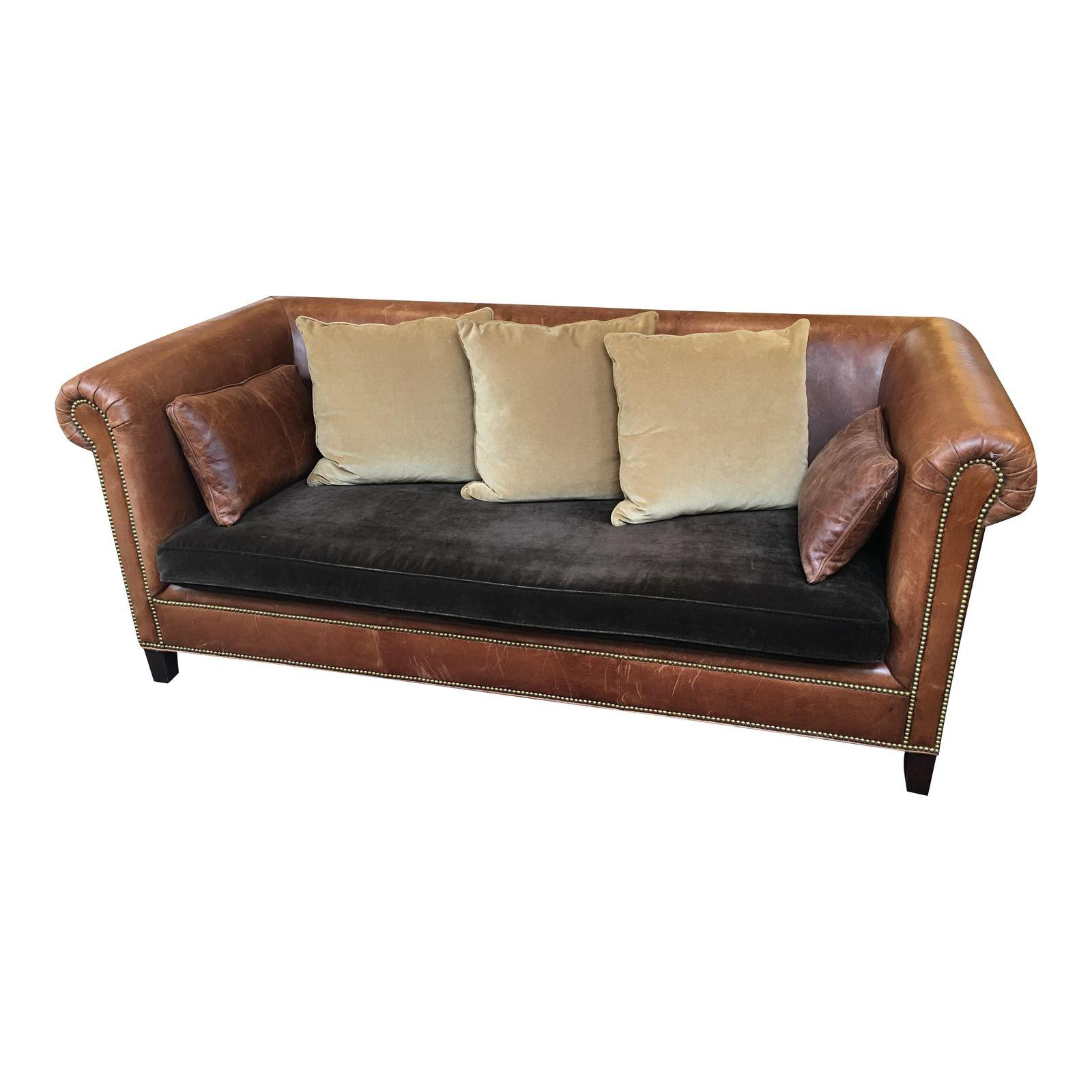 Superb Ralph Lauren Brompton Leather Sofa Design Plus Gallery Ncnpc Chair Design For Home Ncnpcorg