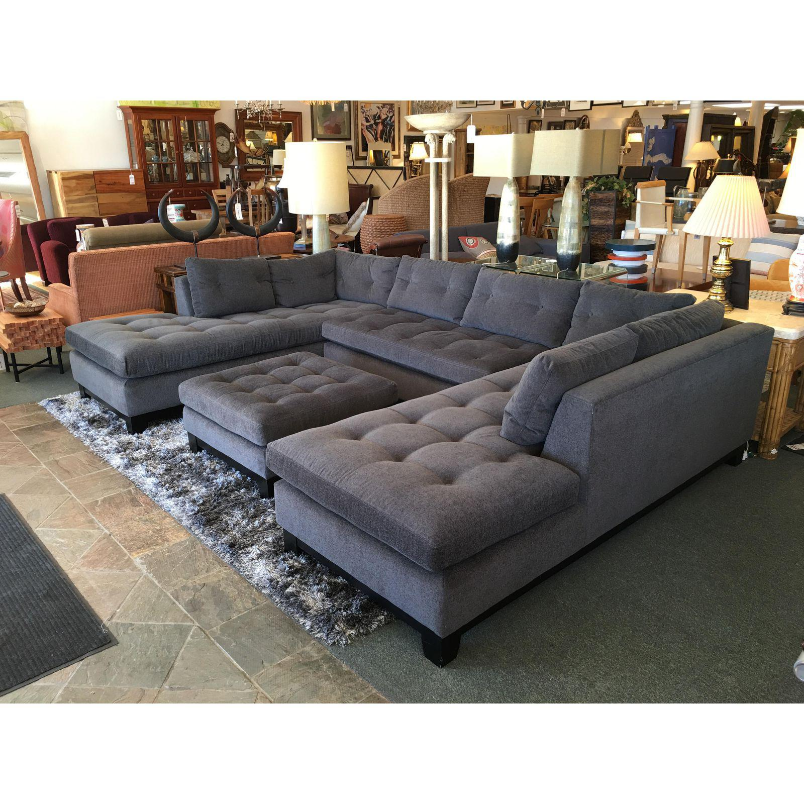 Arhaus Dune Sectional Ottoman Design Plus Gallery