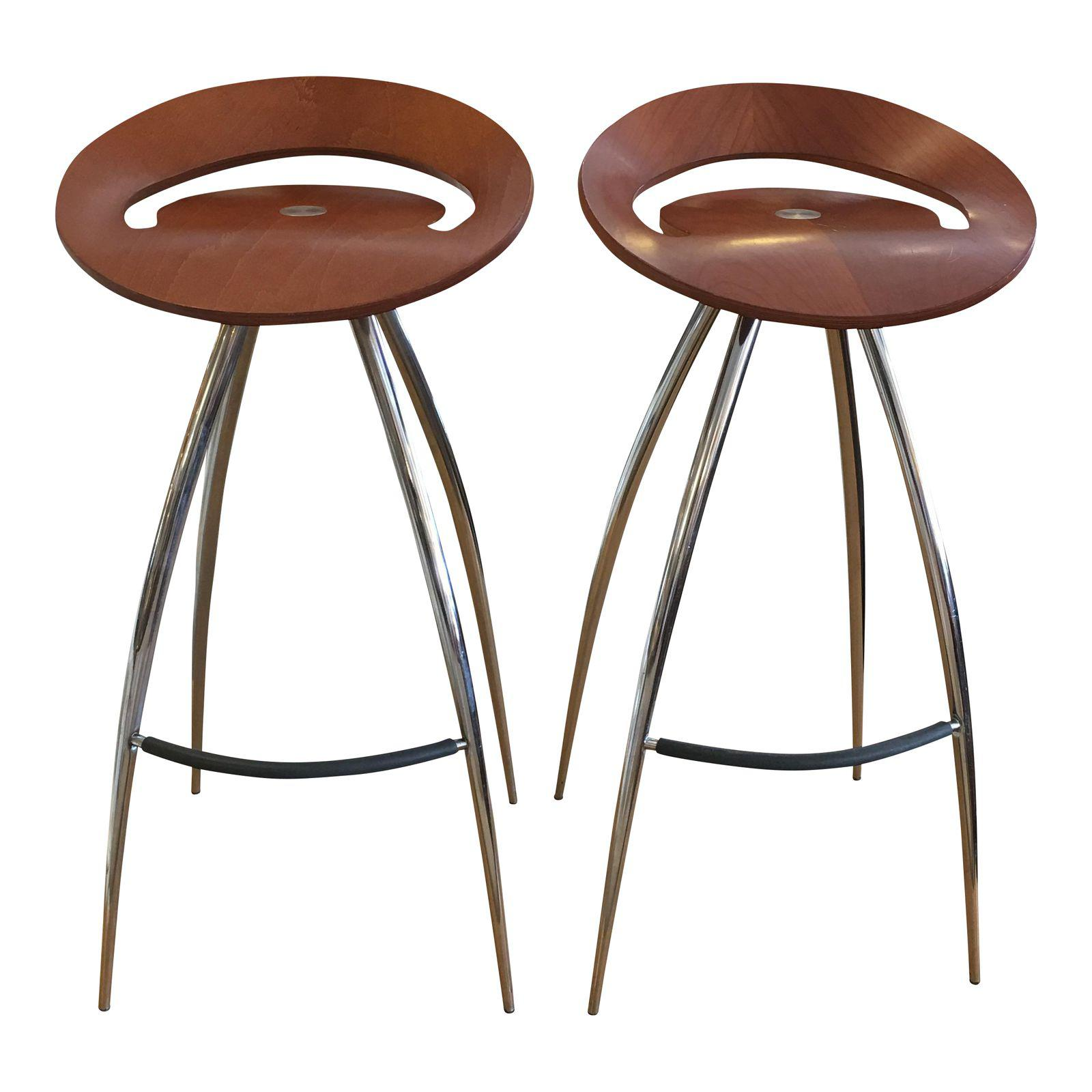 Lyra Magis Bar Stools A Pair Design Plus Gallery