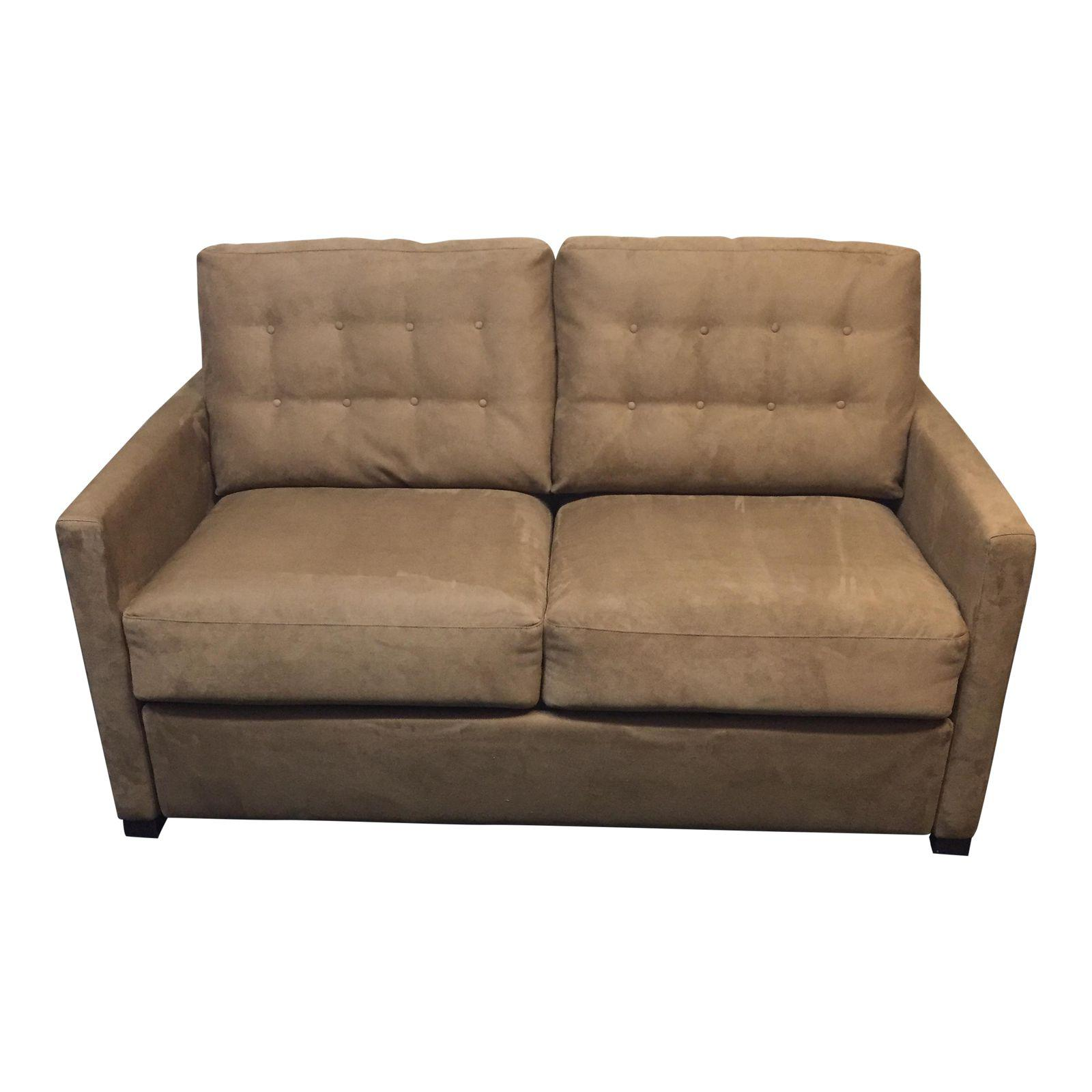 American Leather Full Size Sue Comfort Sleeper Sofa Original Price 2 791 16