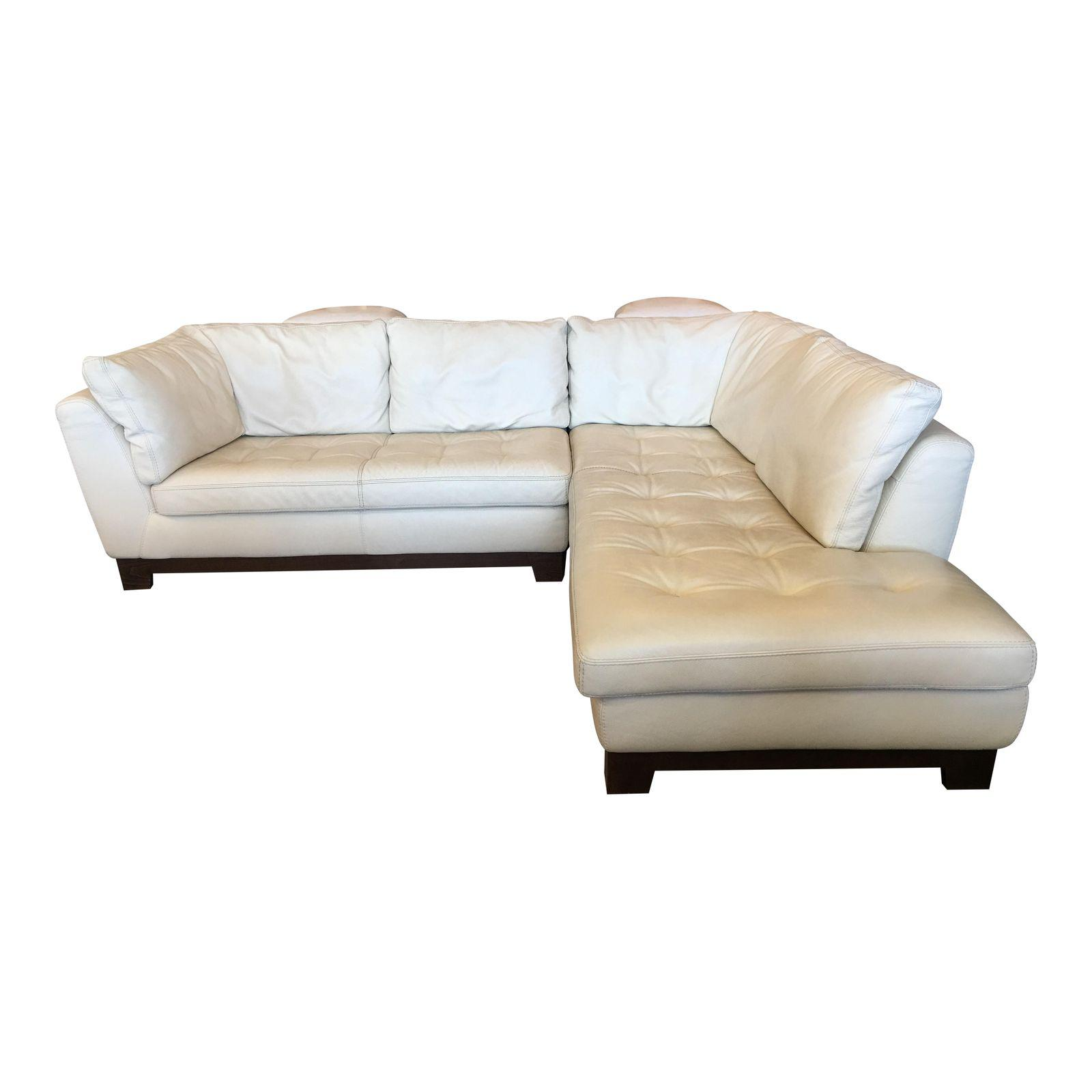 roche bobois ivory leather serenite sectional design plus gallery. Black Bedroom Furniture Sets. Home Design Ideas