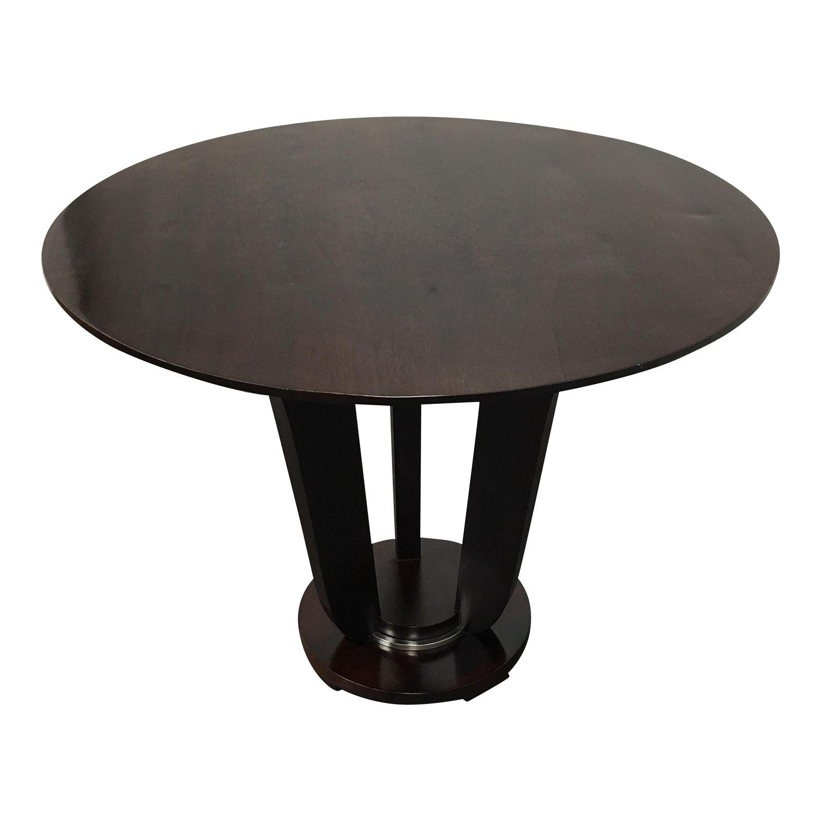 NEW Barbara Barry New Round Occasional Table From Baker Furniture   Design  Plus Gallery