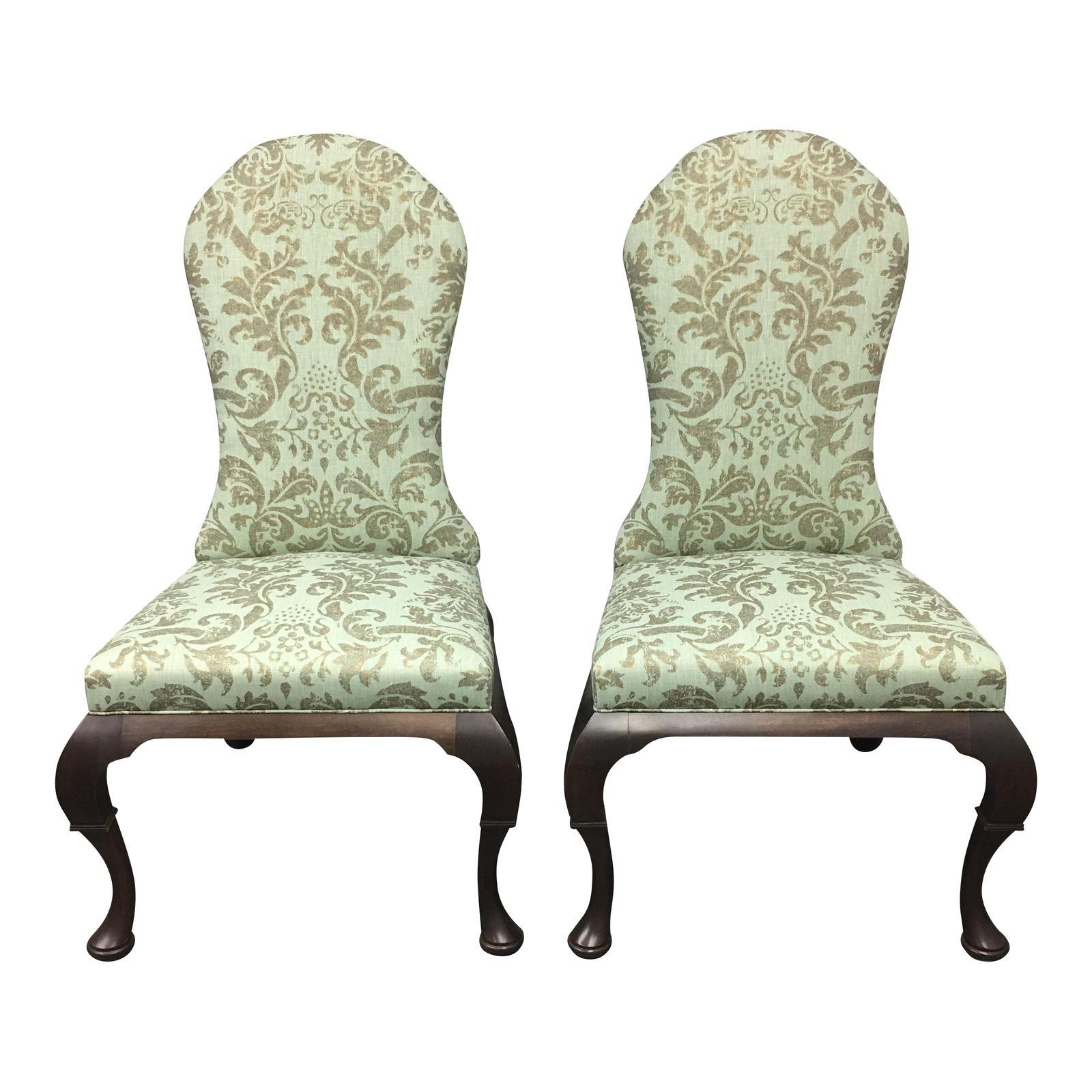 NEW Pair of Hickory Chair Lemont Side Chairs. Original Price ...