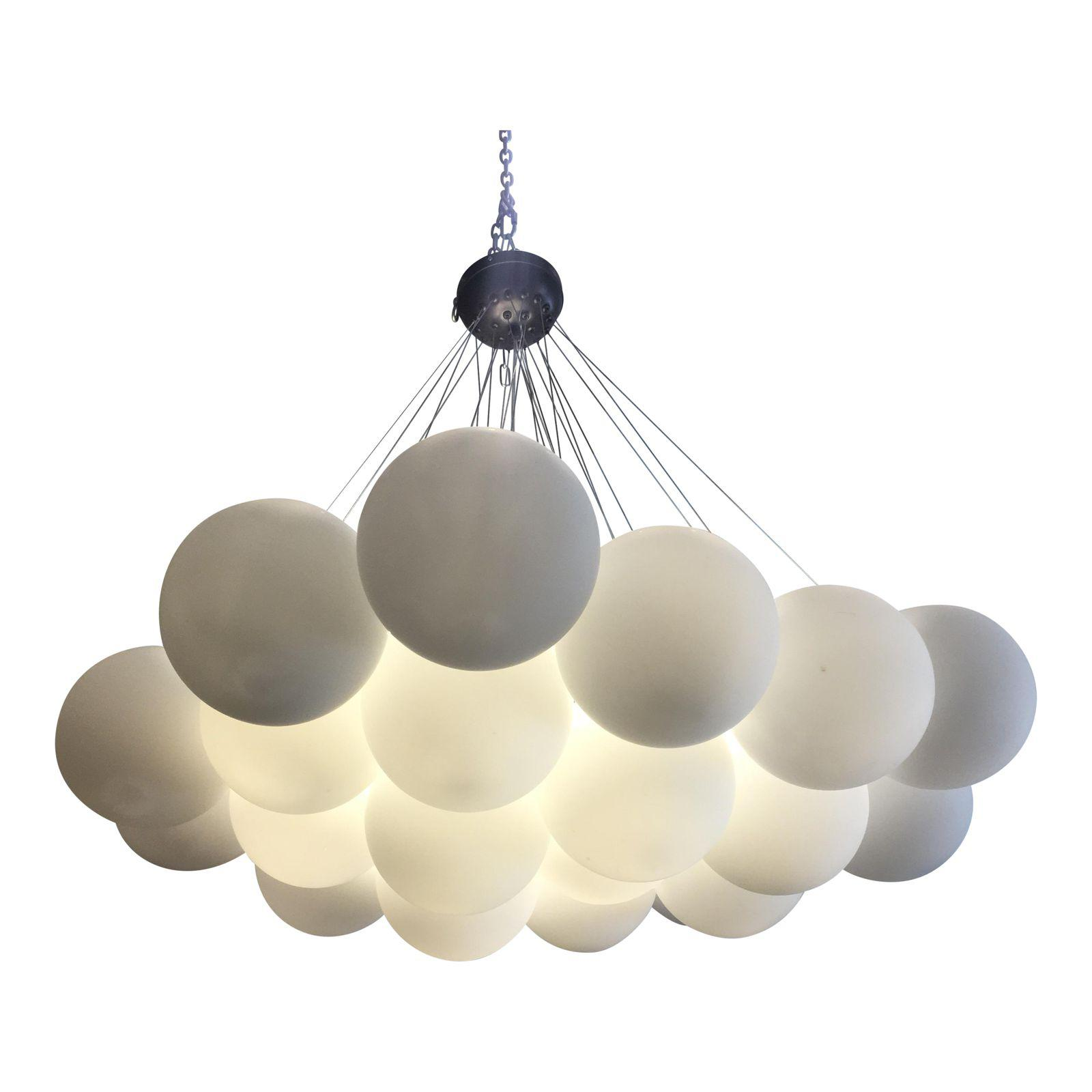 new concept aa0f5 8c137 Shades of Light Gathered Globes Chandelier | Design Plus Gallery