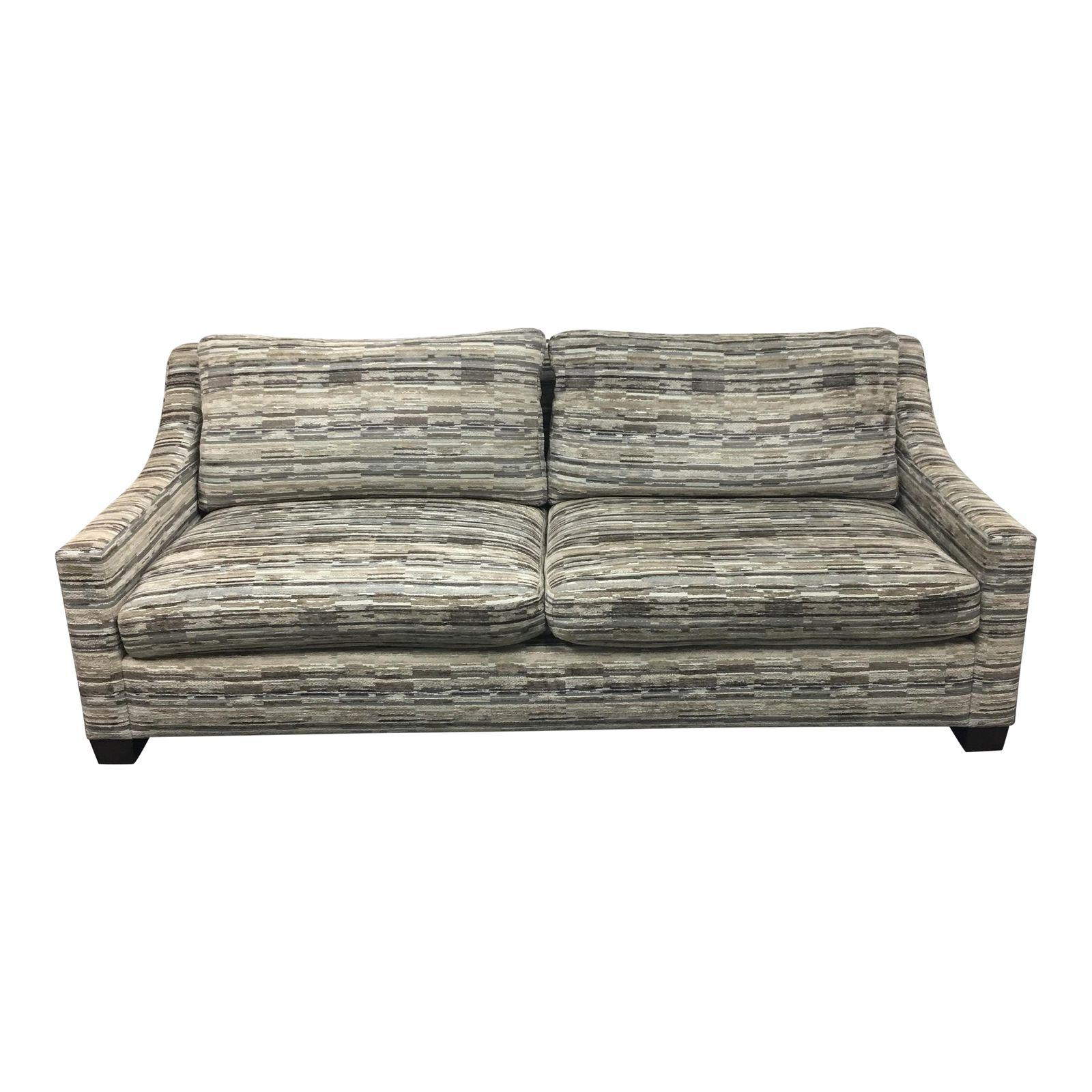 Custom A Rudin Sofa Upholstered In Donghia Fabric Original Price 8 000 00