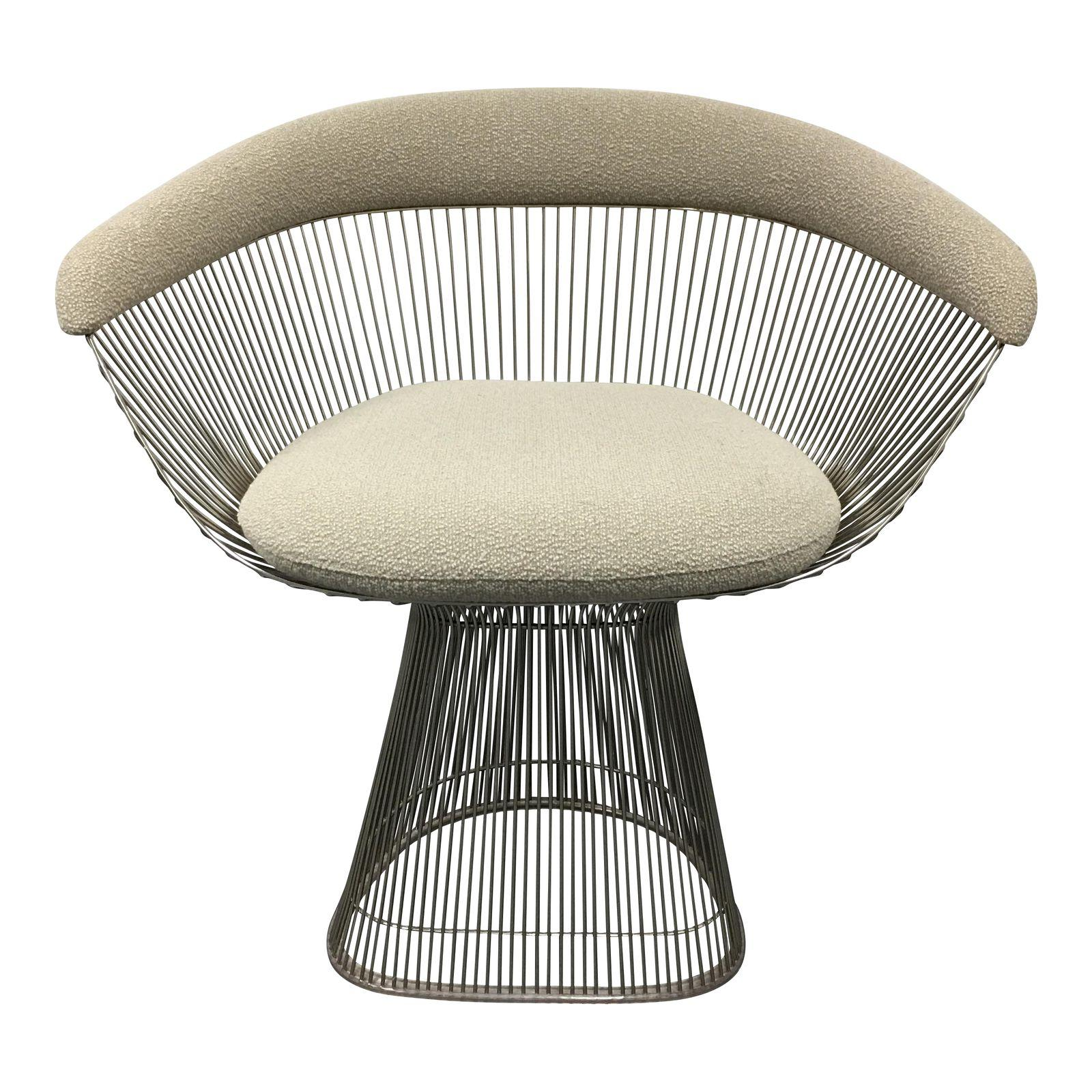 Arm Chair Designed by Warren Platner and Produced by Knoll in Italy ...