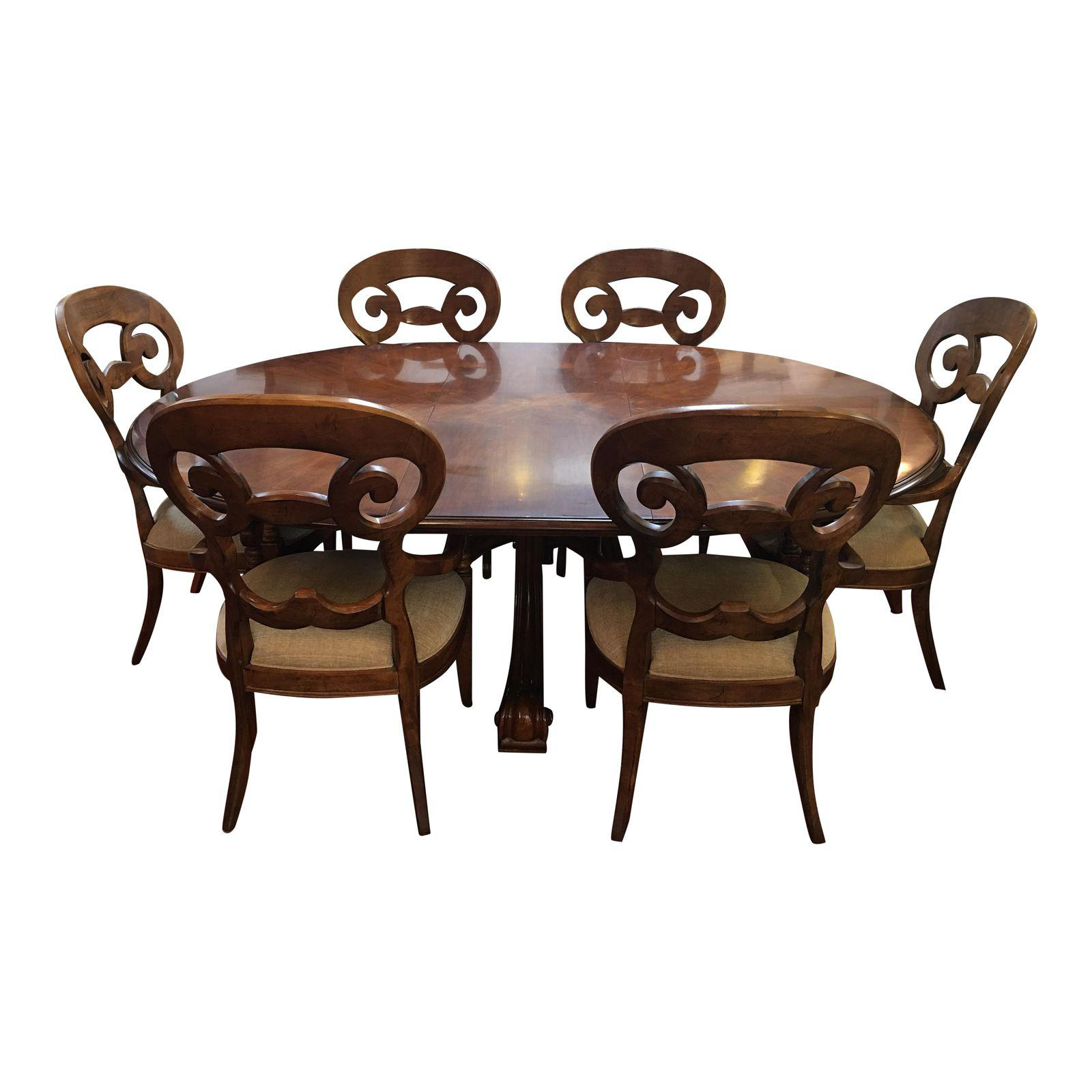 Sold Design Plus Consignment Gallery Presents A Custom Dining Set From Century Furniture