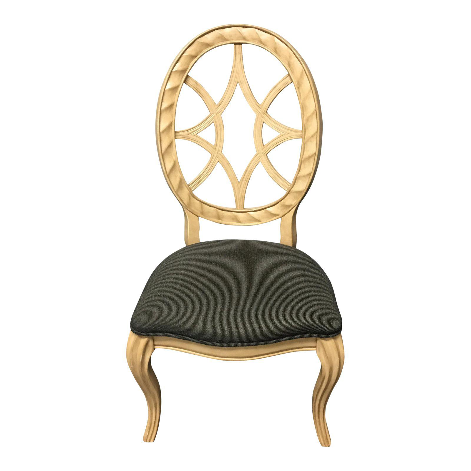 Furniture Web: Bernhardt Furniture Spider Web Back Side Chair