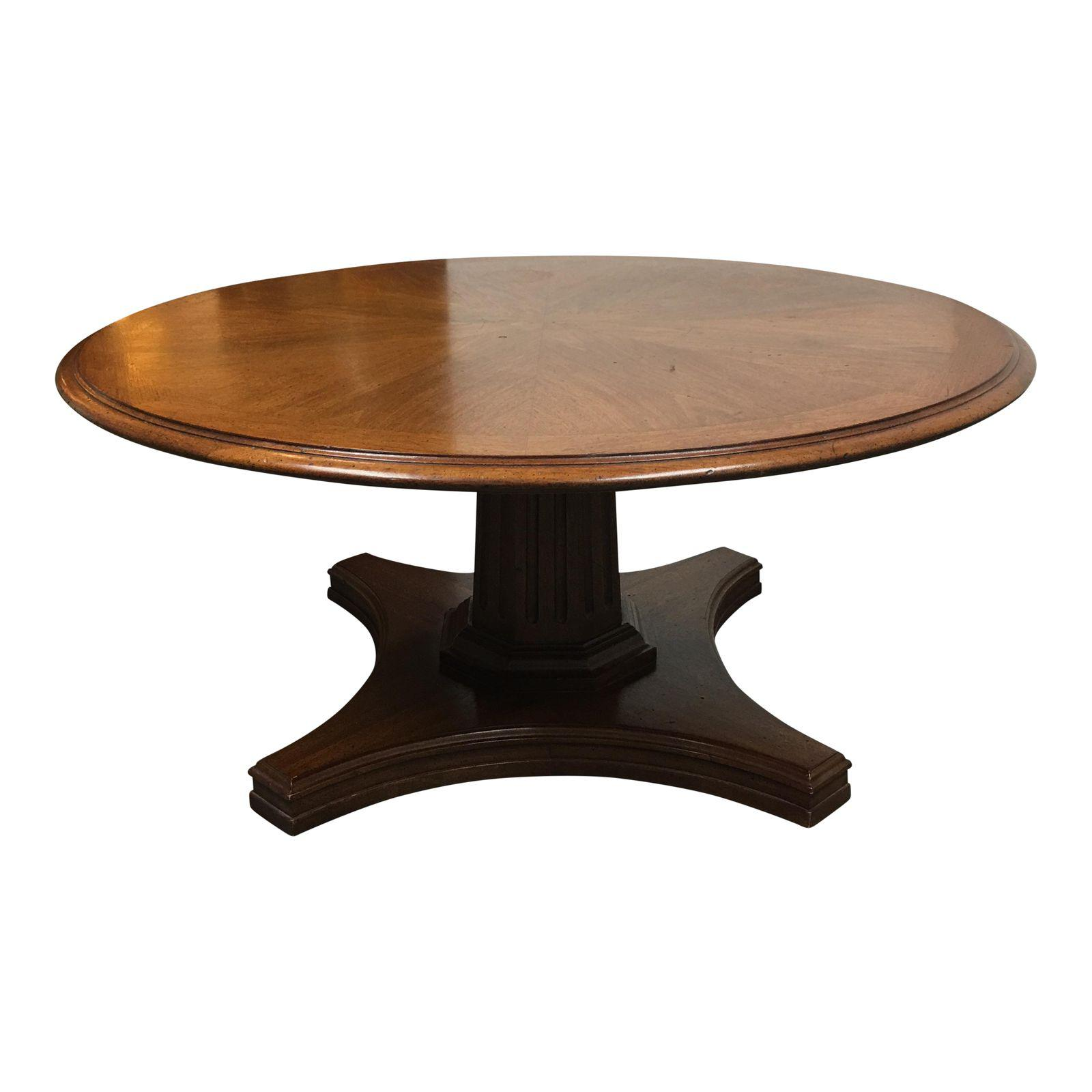 Round Coffee Table Standard Size: Round Adjustable Height Table From Coffee To Dining