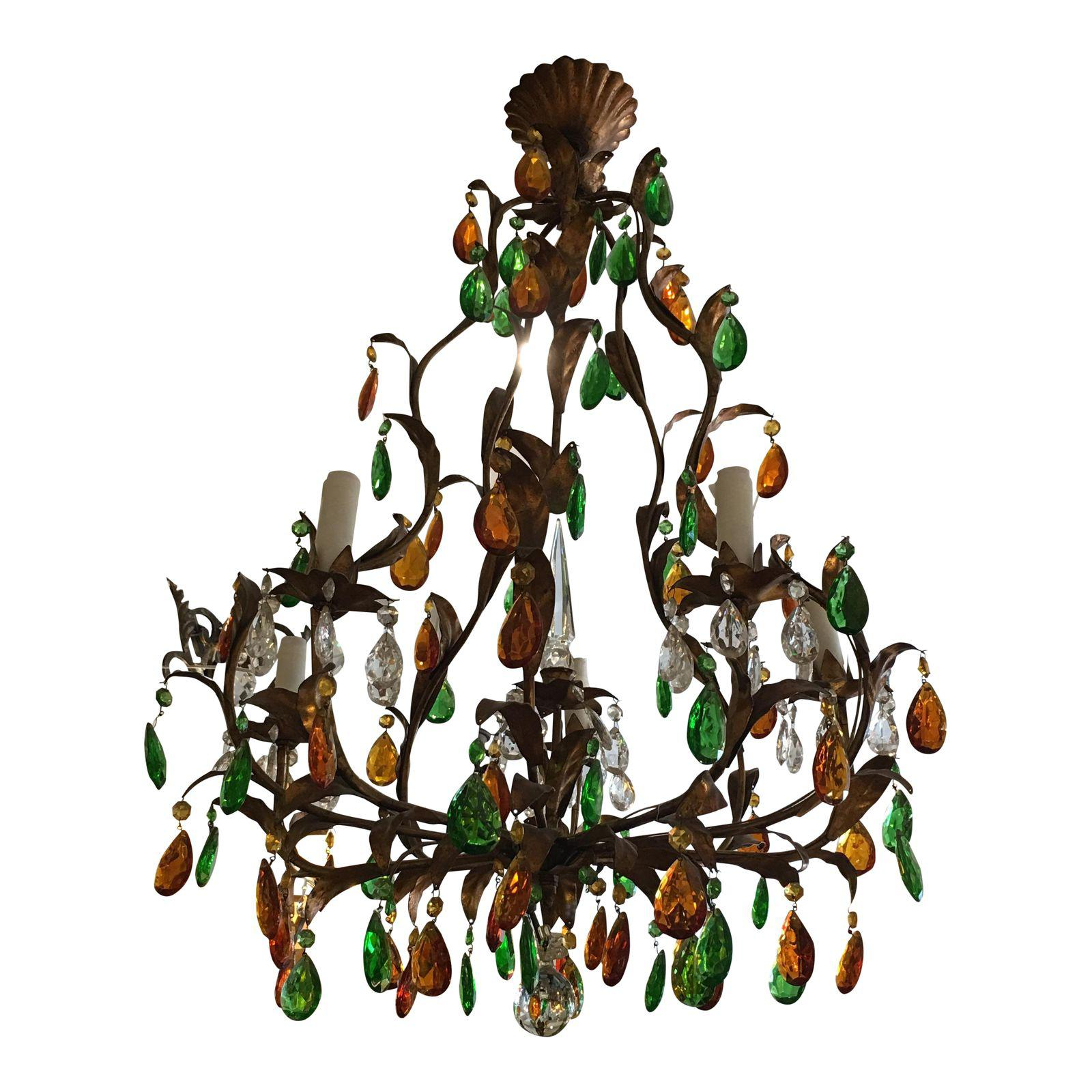 statement in will nordal stunning by of wooden pin for home a make this chunky green room hundreds approx and features pinterest beaded chandelier the beads any from weeks brand danish