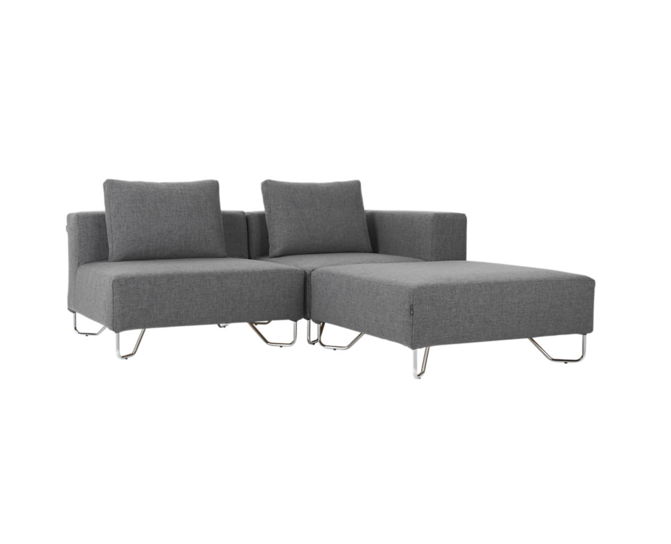 Terrific Cb2 Lotus Sectional Eight Pieces Five Pillows Original Andrewgaddart Wooden Chair Designs For Living Room Andrewgaddartcom