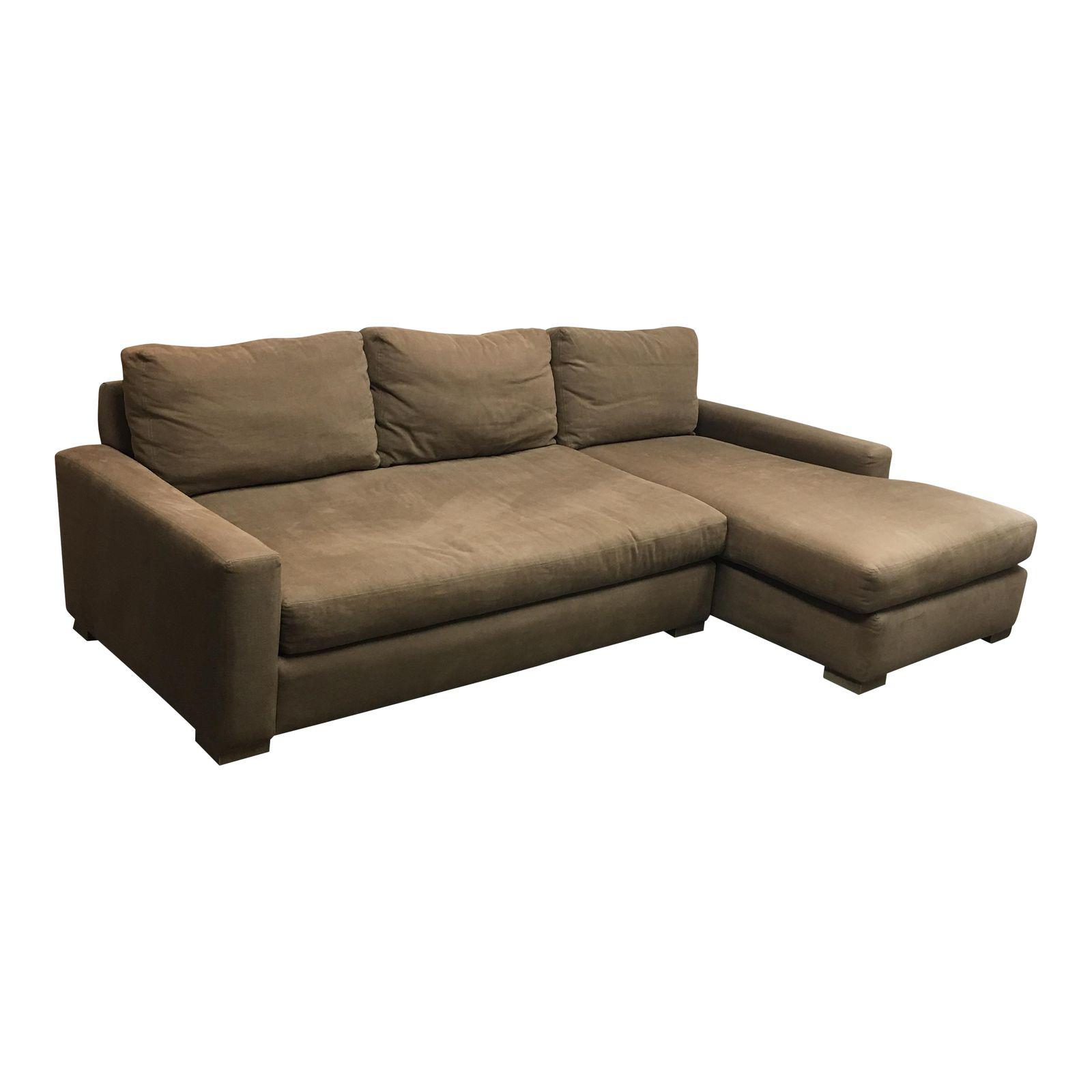 Restoration Hardware Maxwell Sectional With Right Chaise. Origina Price $4800.00 - Design Plus Gallery  sc 1 st  Design Plus Consignment & Restoration Hardware Maxwell Sectional With Right Chaise. Origina ...