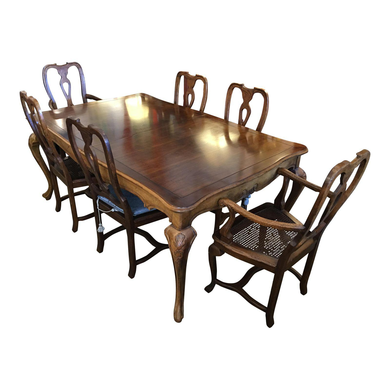 baker dining room table 6 chairs sale baker dining room