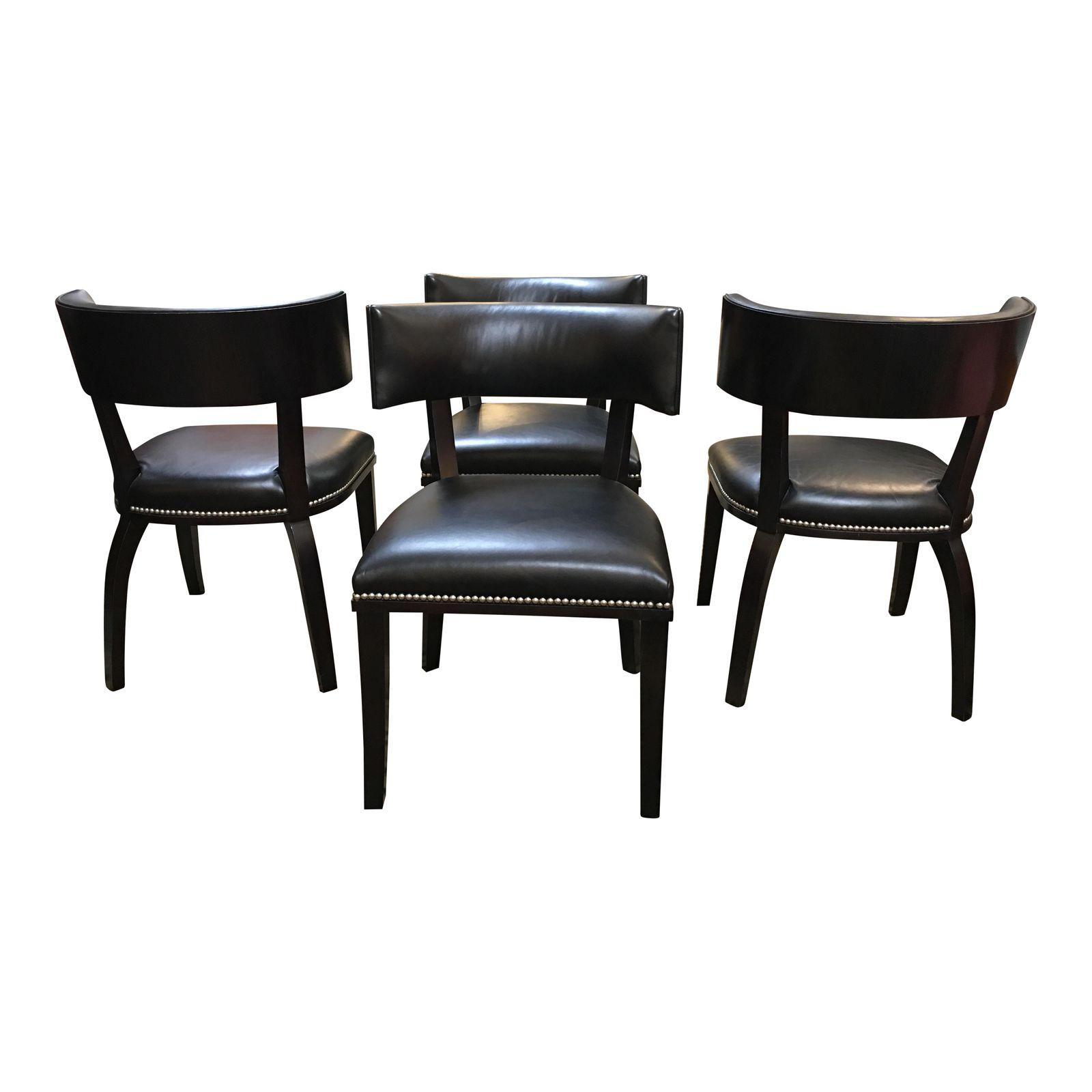 Ralph Lauren Clivedon Dining Chairs Set Of Four Original Price