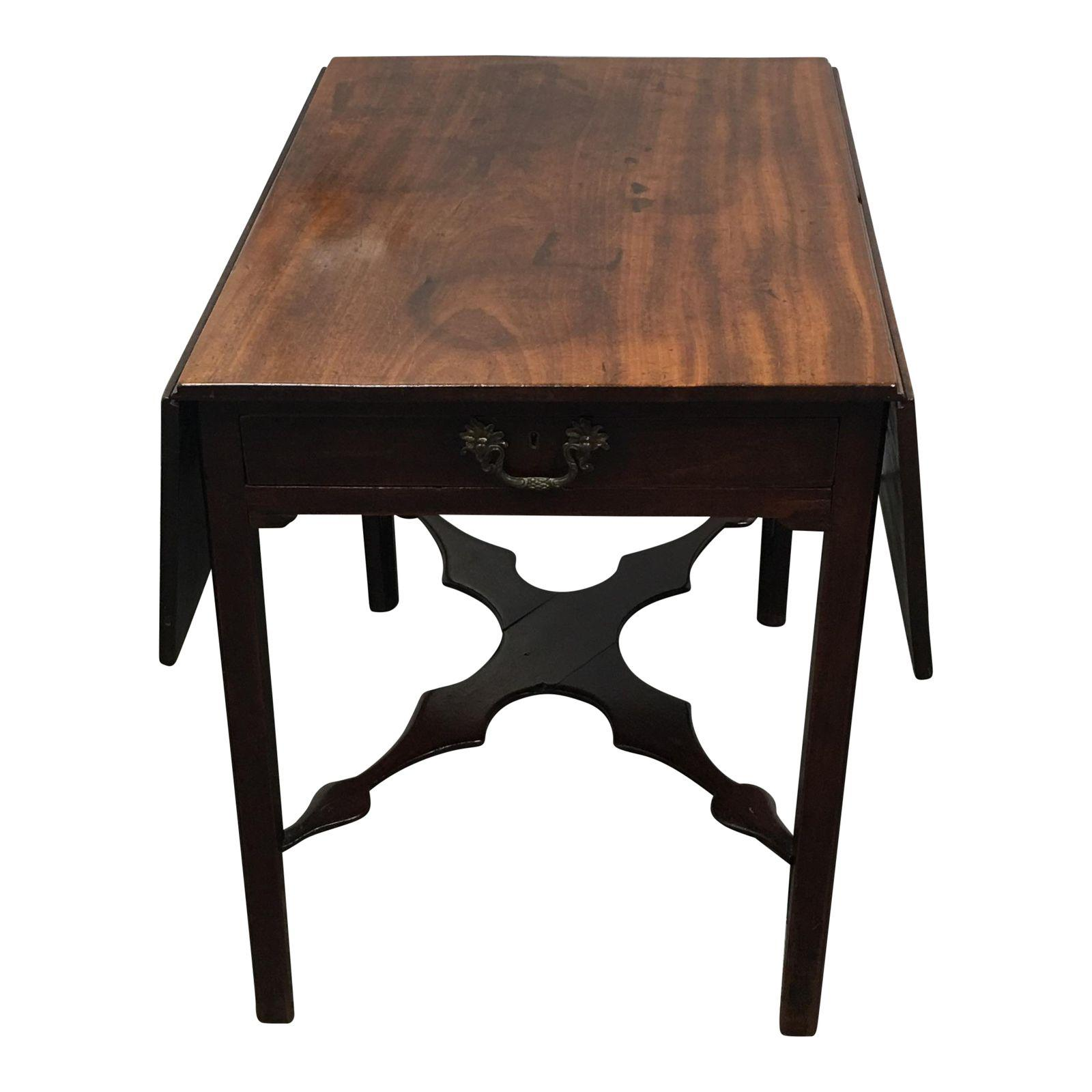 Antique Drop Leaf Table Furniture Value Cherry Pivotworks For Ealing Dining Room Tables Pedestal Attractive