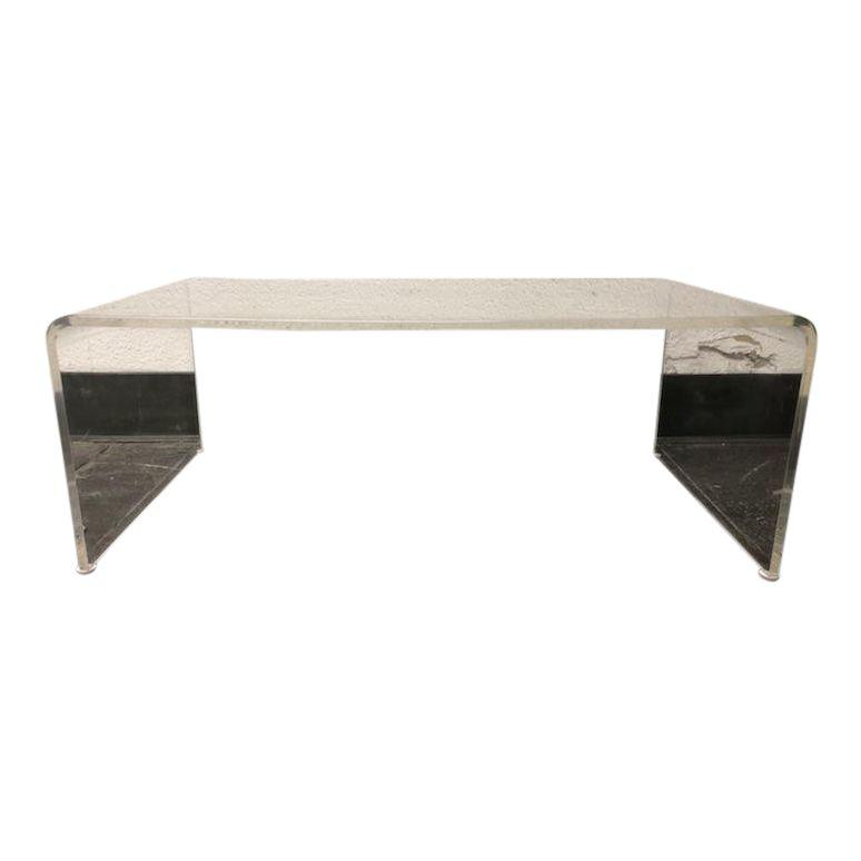 Stupendous Cb2 Peekaboo Acrylic Coffee Table 3799 Design Plus Gallery Unemploymentrelief Wooden Chair Designs For Living Room Unemploymentrelieforg