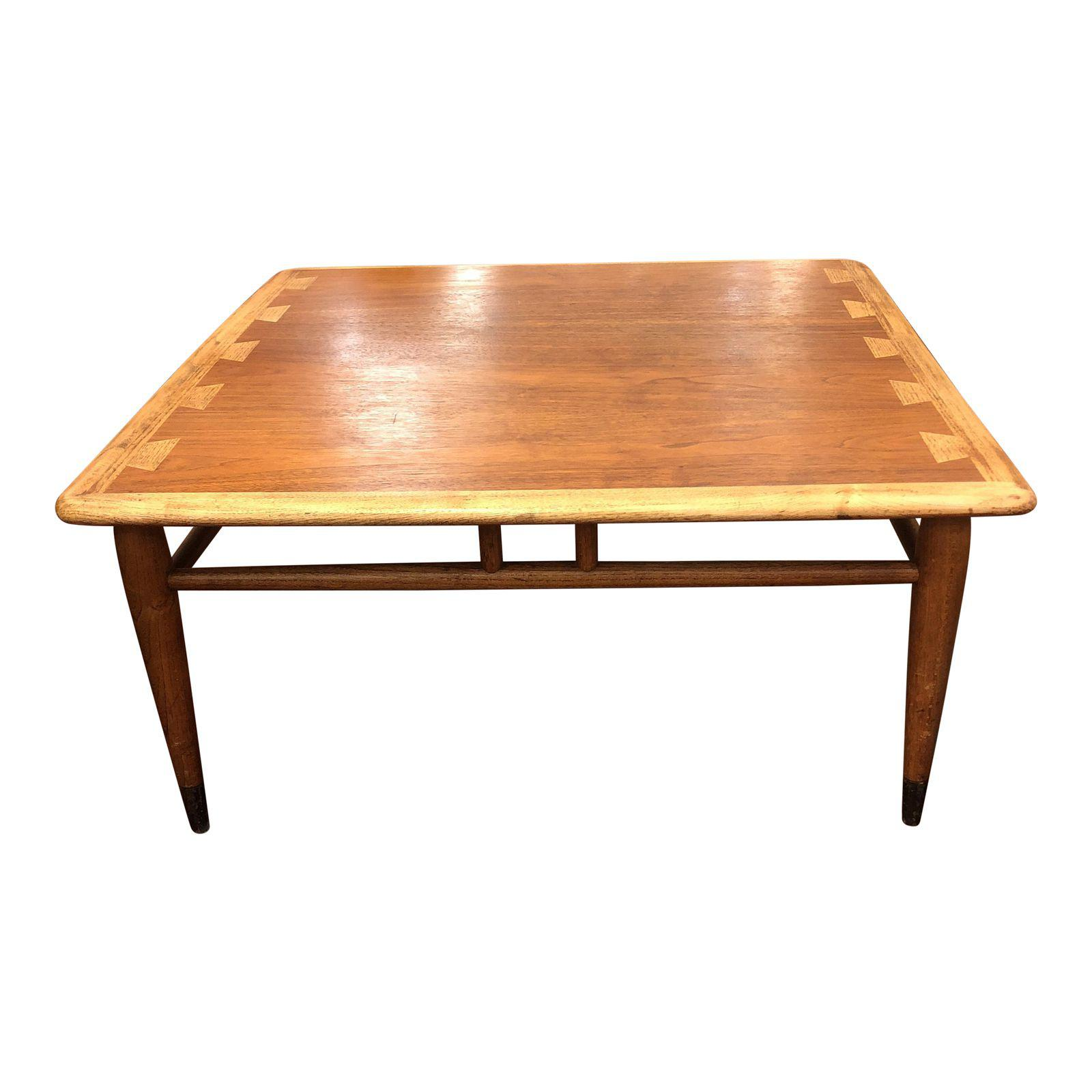 Lane Mid Century Coffee Table Table Designs