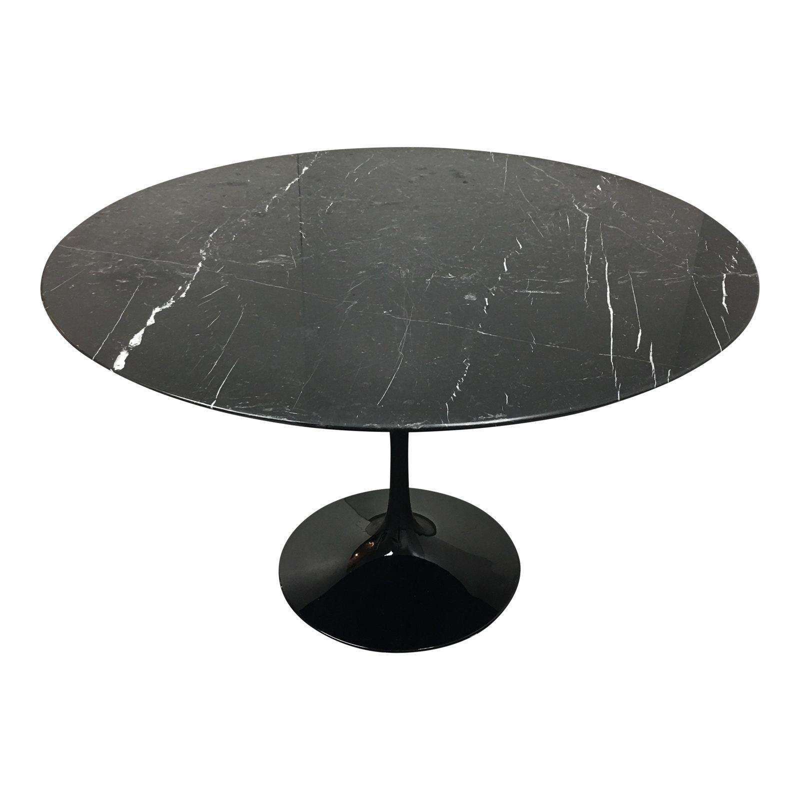 Room Board Saarinen Nero Black Marble Table Original Price - Room and board saarinen table