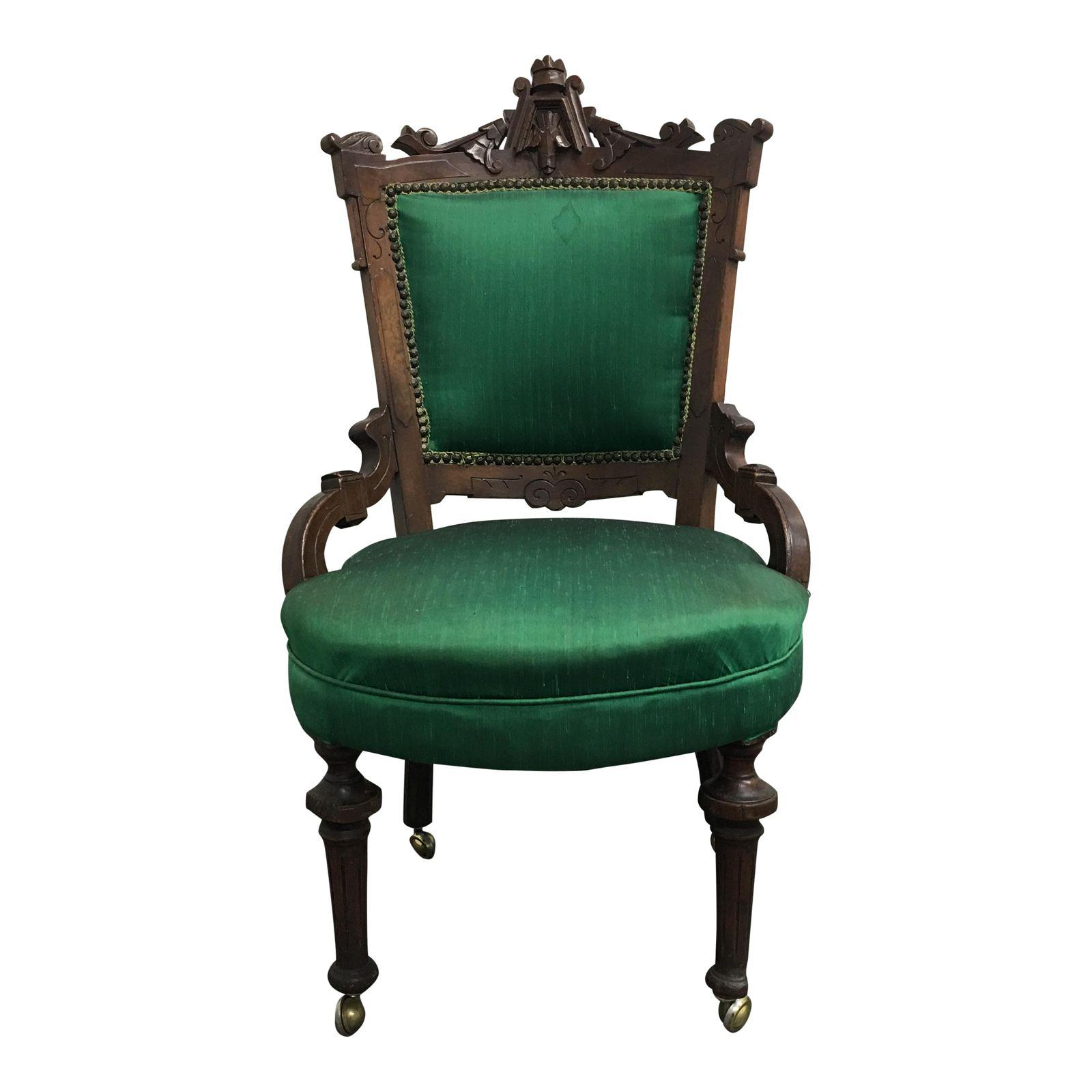 Vintage Chairs With Caster 9580 1