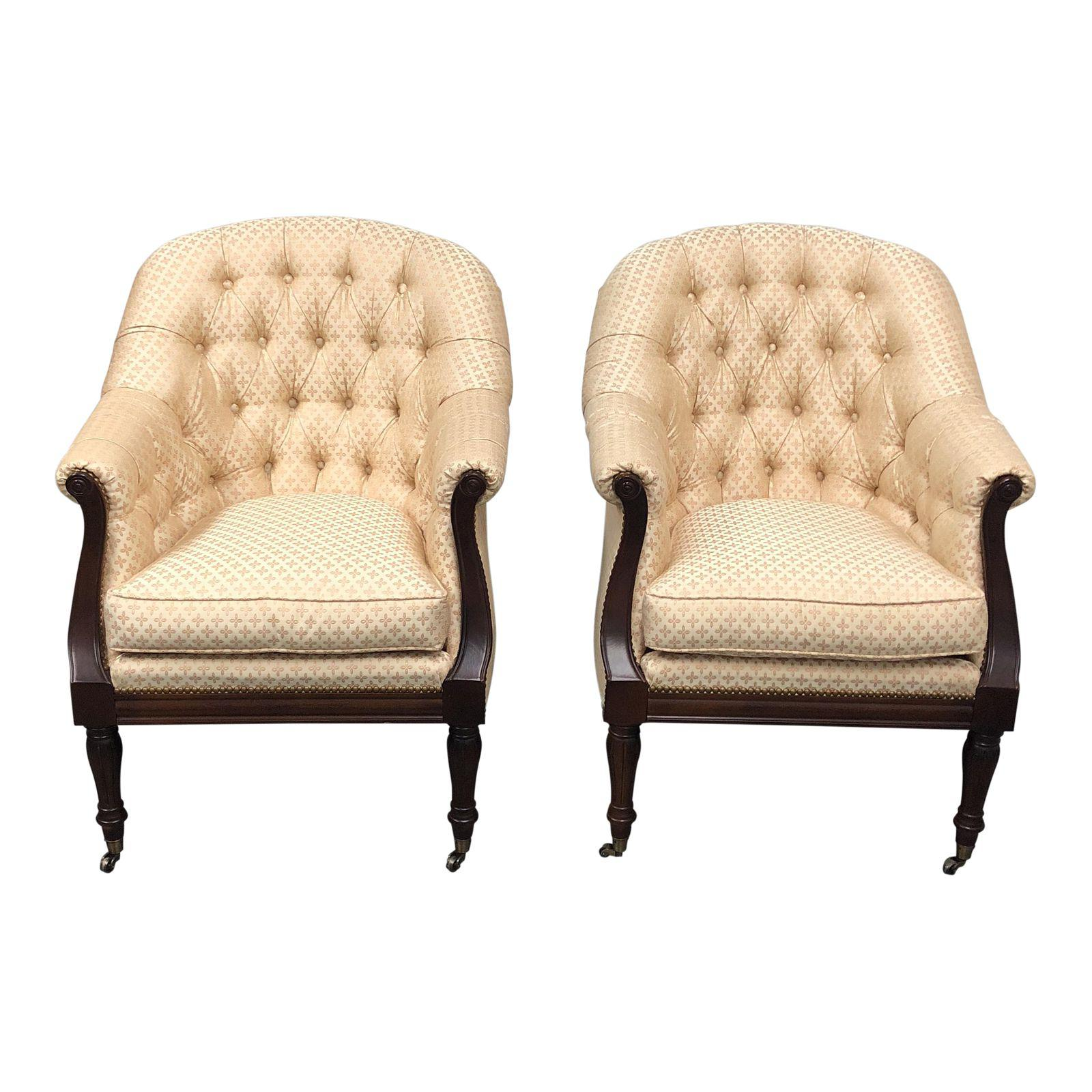 Robert allen richmond accent chairs a pair original price 3315 00
