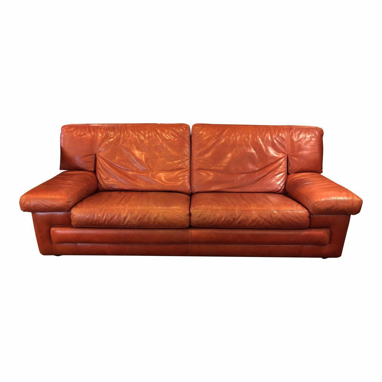 roche bobois vintage red leather sofa original price 4 design plus gallery. Black Bedroom Furniture Sets. Home Design Ideas