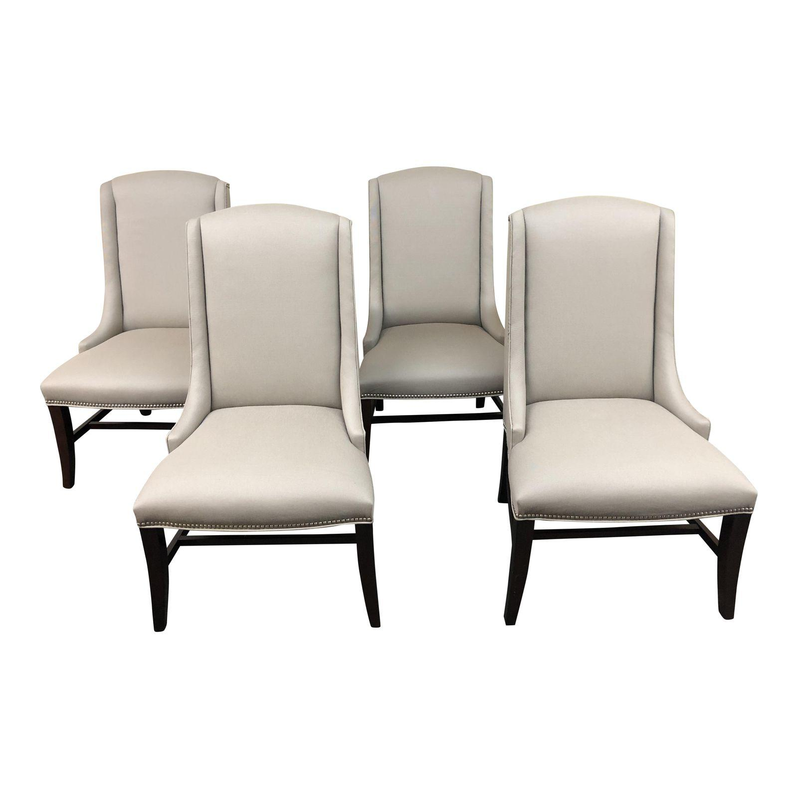 dining chairs set of 4. Bernhardt Upholstered Dining Chairs \u2013 Set Of 4. Original Price: $4,800.00 4