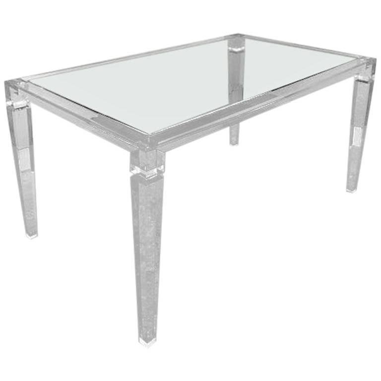 PlexiCraft Of New York King George Dinning Table Design Plus Gallery - Plexi craft coffee table