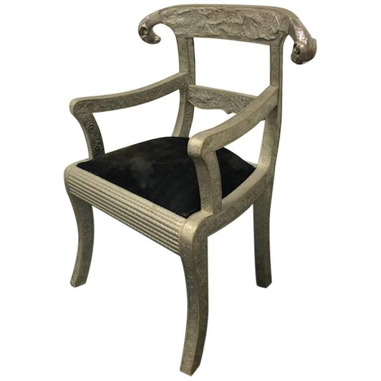 Vintage Anglo Indian Ram S Head Arm Chair Original Price