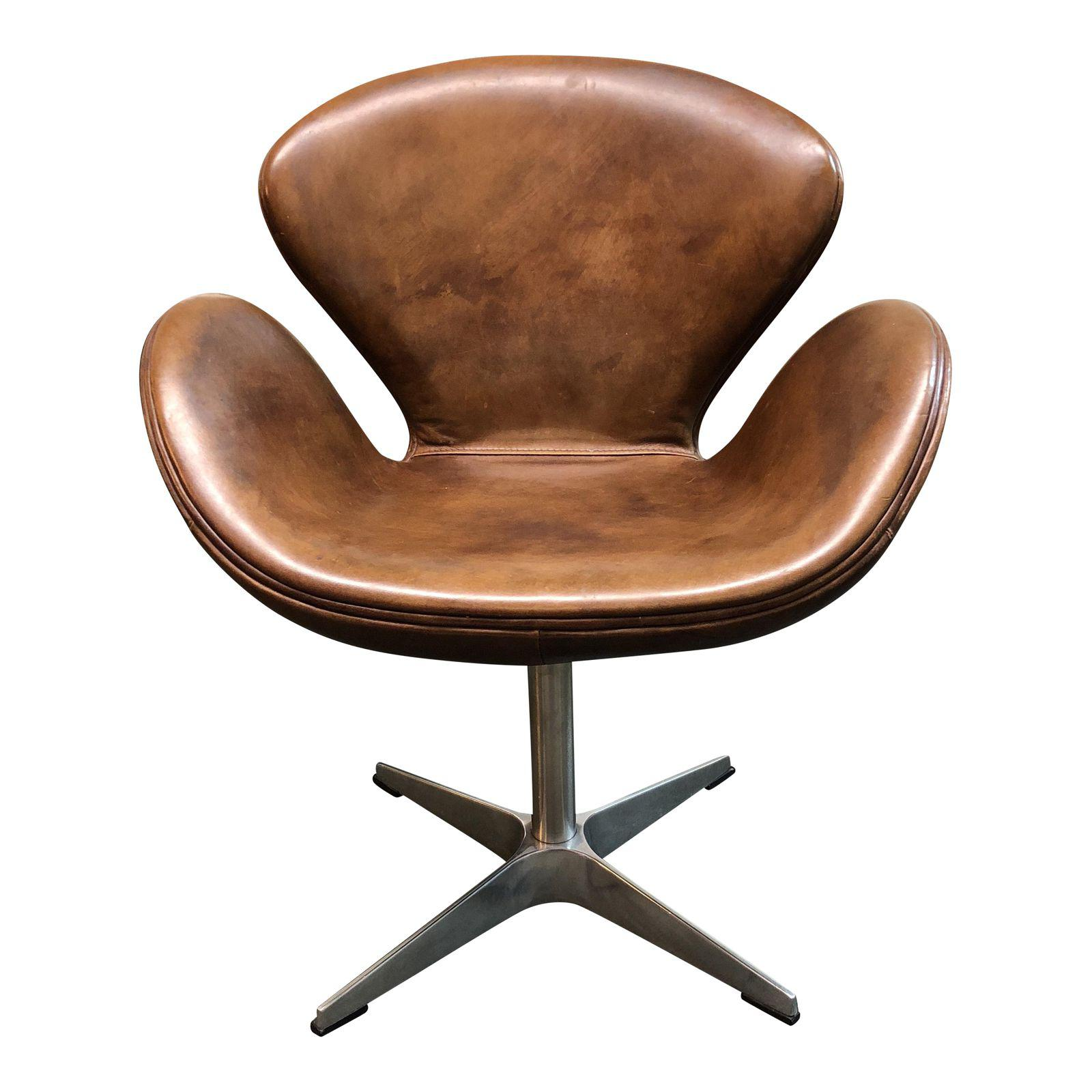 Devon Leather Lounge Chair By Restoration Hardware