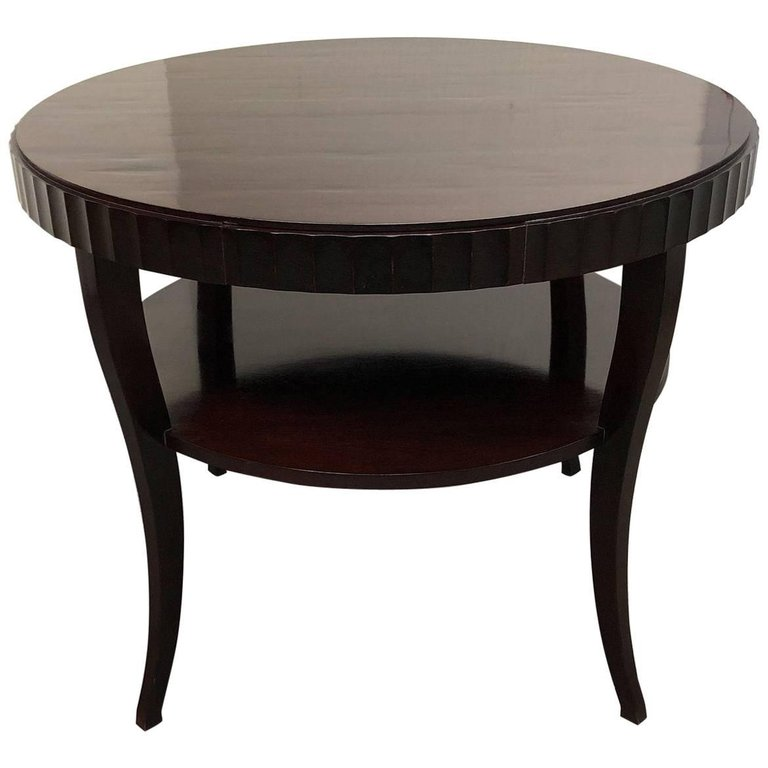 Baker Furniture Barbara Barry SideEntry Table Design Plus Gallery