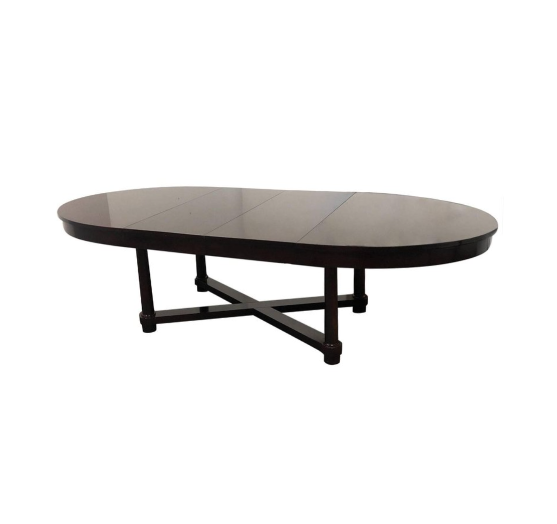Barbara Barry Oval Table For Baker. Original Price: $8,000.00   Design Plus  Gallery
