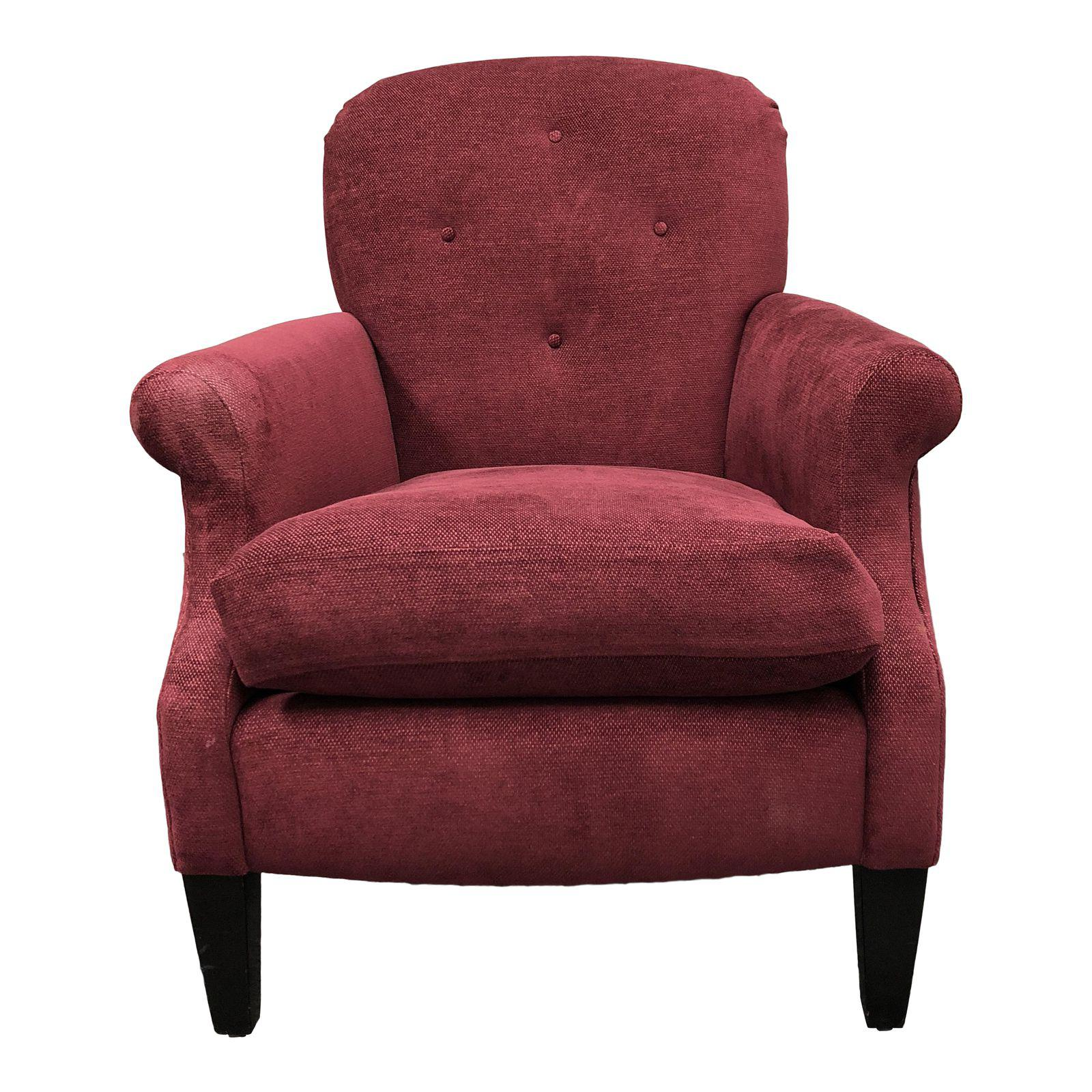 Custom A. Rudin 609 Plum Chenille Accent Chair. Original Price $2284.00 - Design Plus Gallery  sc 1 st  Design Plus Consignment Gallery : a rudin chair - Cheerinfomania.Com
