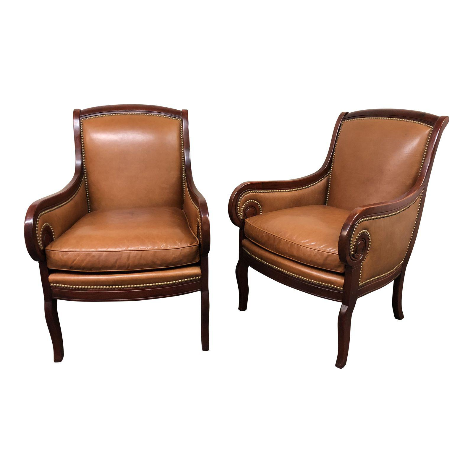 Hickory Chair Company Charles Side Chairs U2013 A Pair. Original Price:  $6,900.00