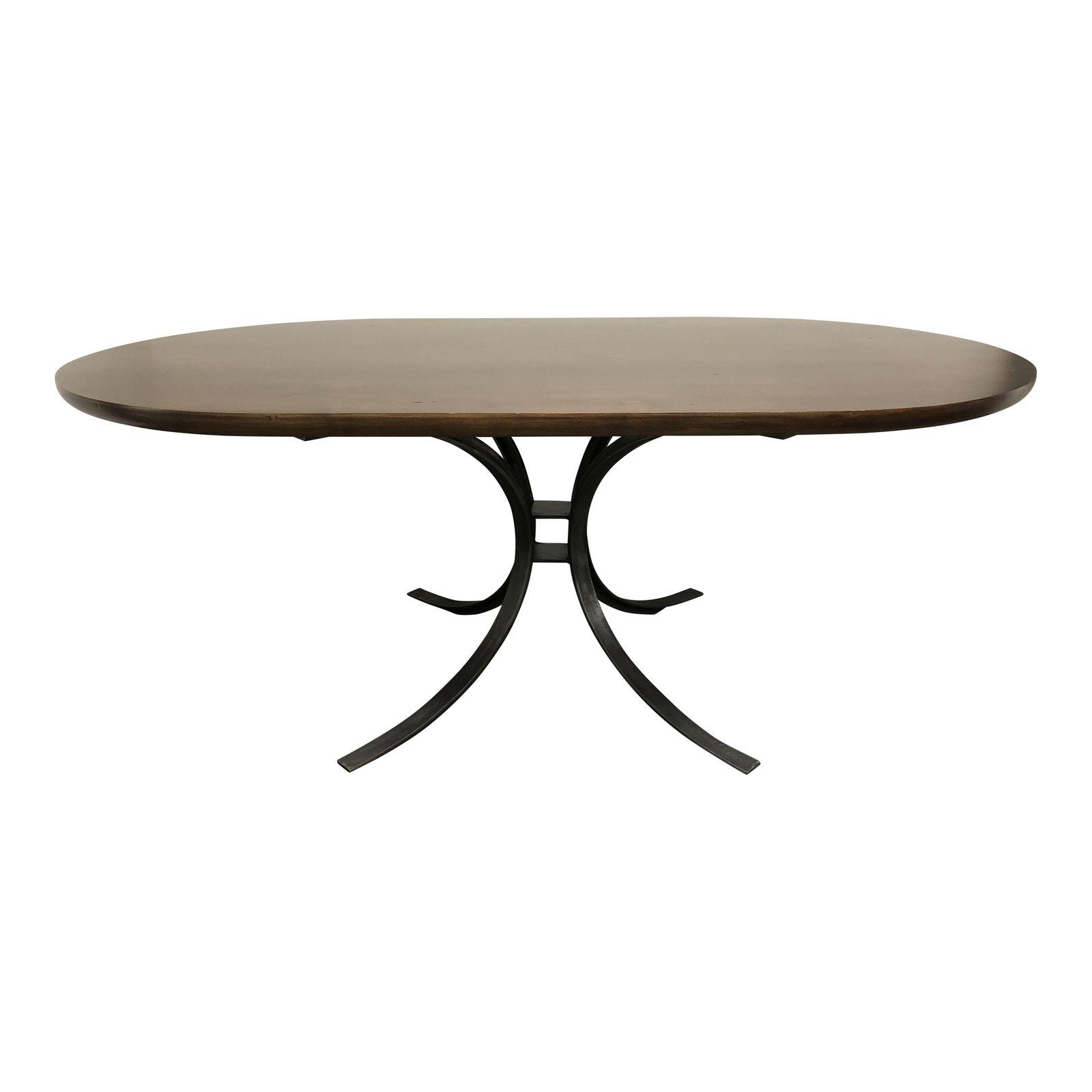 Redford House Quincy Oval Dining Table. Original Price: $3,678.00