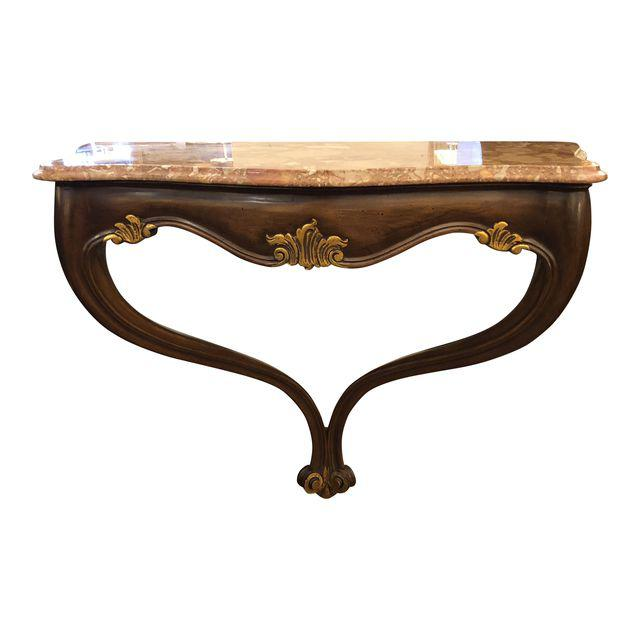 Vintage Style Wall Mount Console Table Design Plus Gallery
